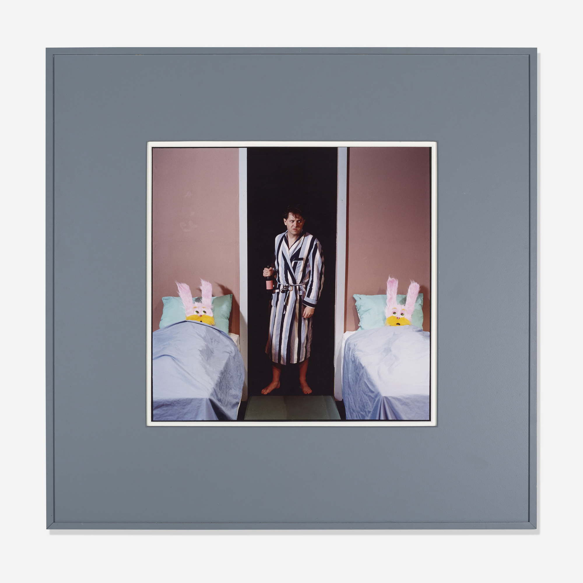 200: Bruce Charlesworth / Untitled (Rabbits in Bed) (1 of 1)