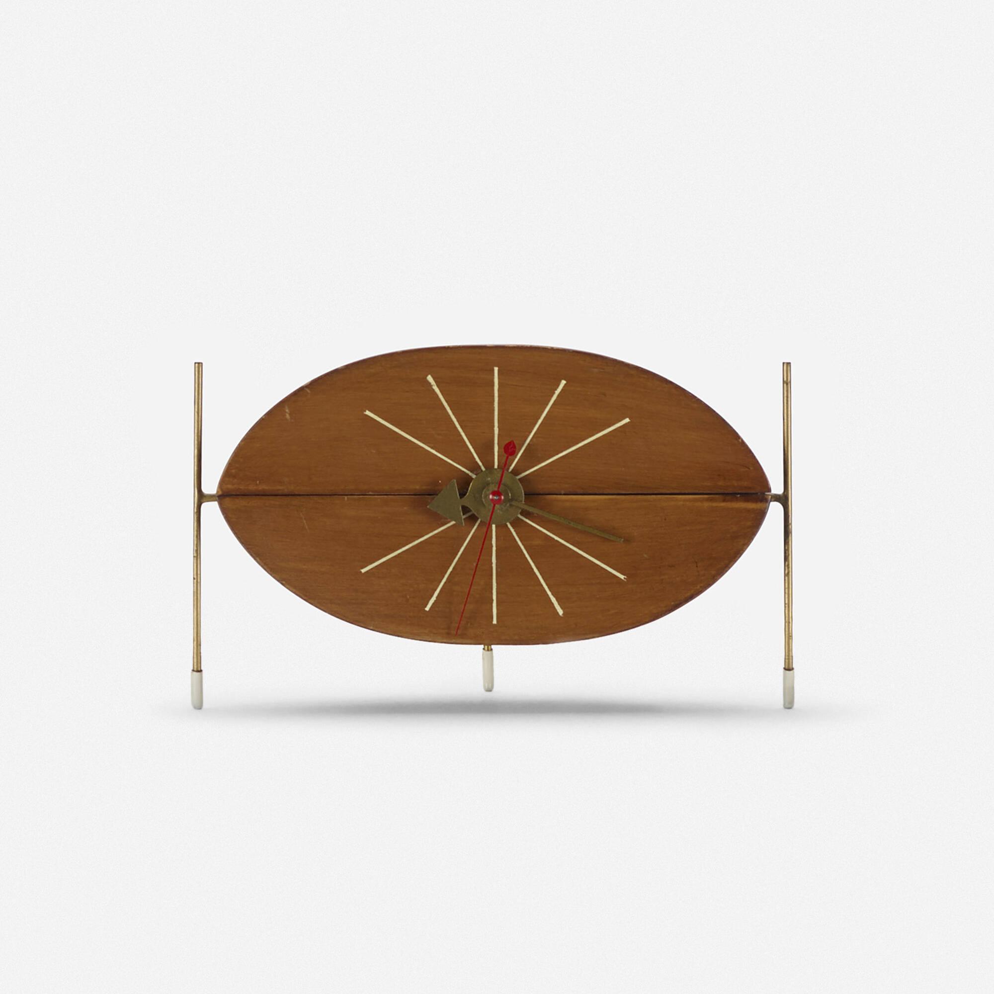 201: George Nelson & Associates / Watermelon table clock, model 2219D (1 of 1)
