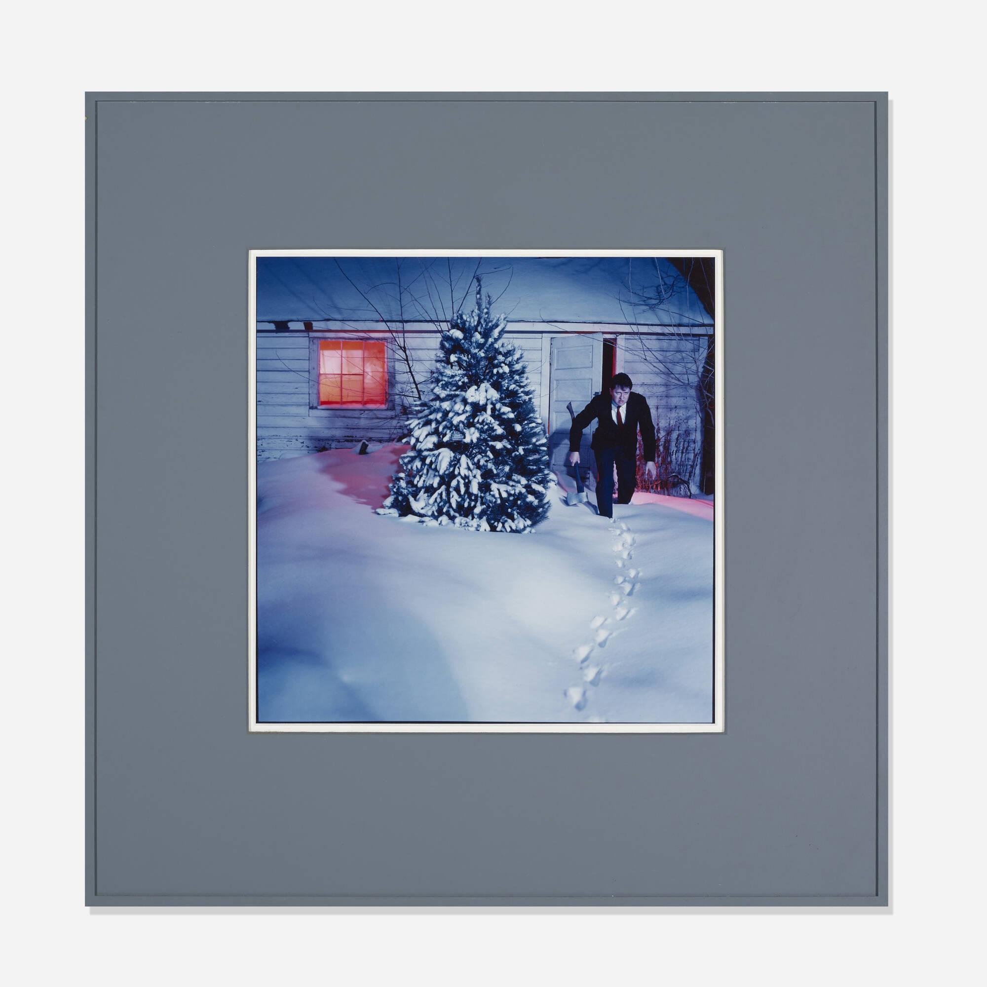 201: Bruce Charlesworth / Untitled (Snow-Bound Cabin) (1 of 1)