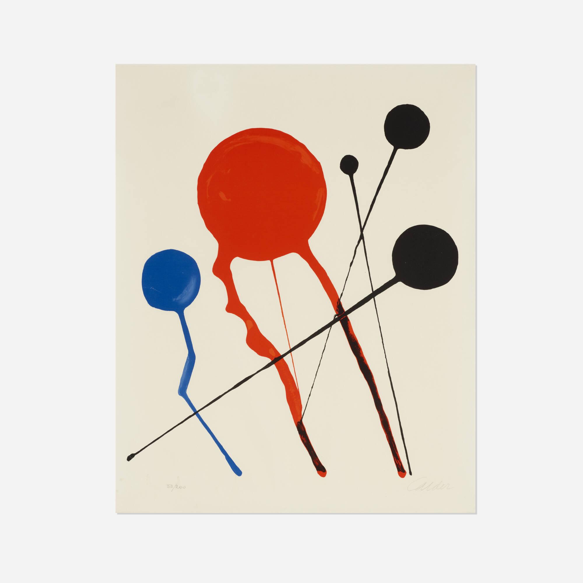 201: Alexander Calder / Comètes (1 of 1)