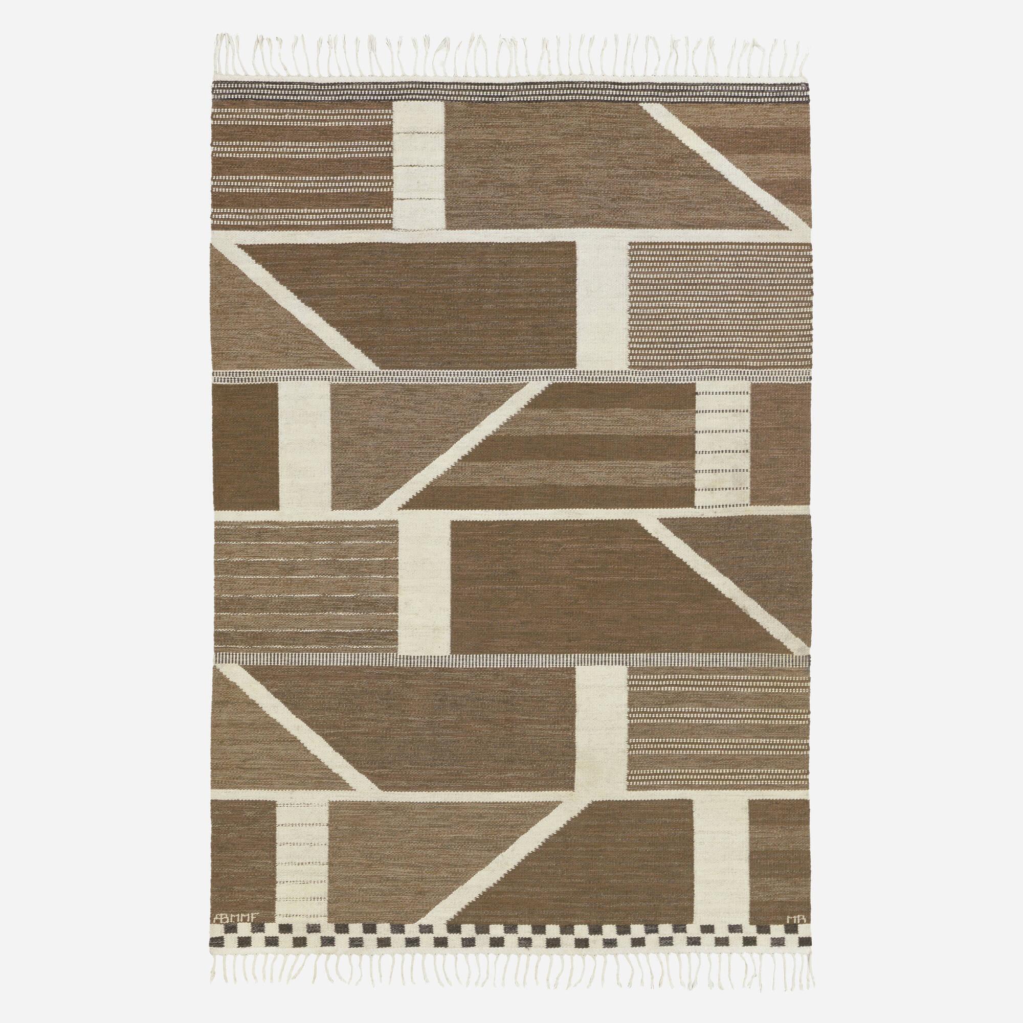 201: Marianne Richter / Korsvirke flatweave carpet (1 of 2)