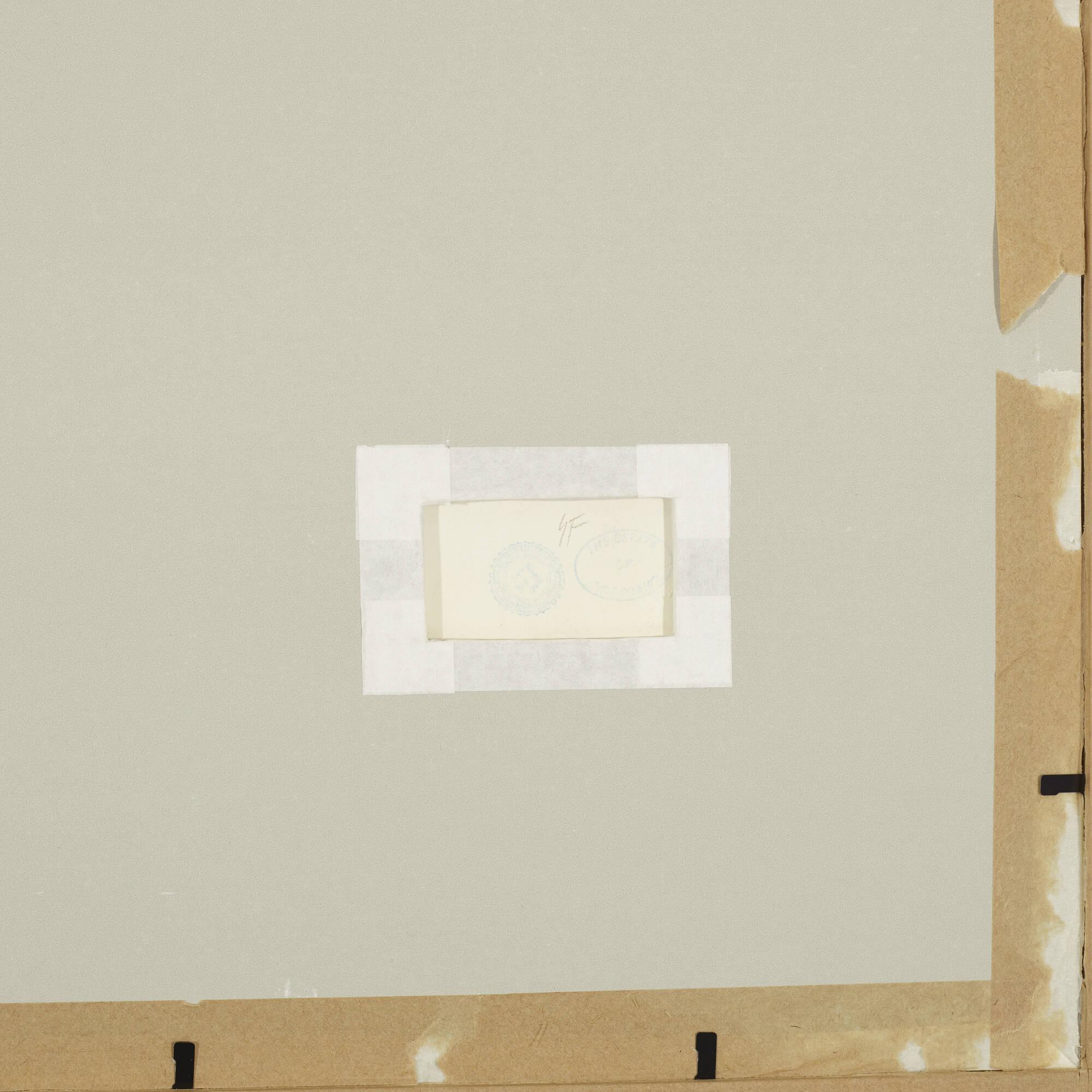 201: Andy Warhol / Untitled (Christmas Invitation Design) (2 of 2)