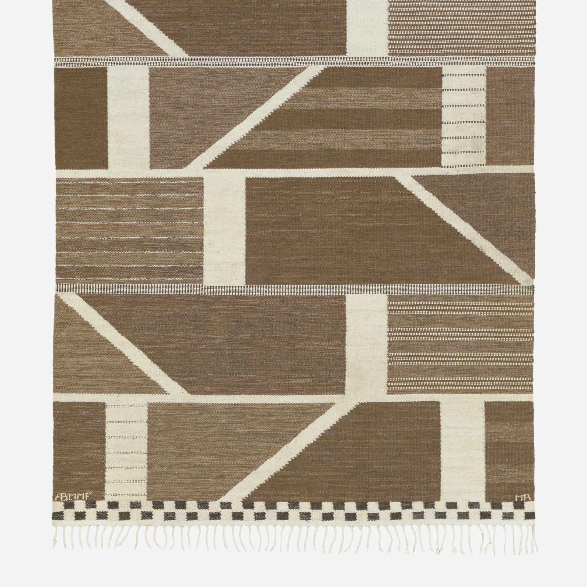 201: Marianne Richter / Korsvirke flatweave carpet (2 of 2)