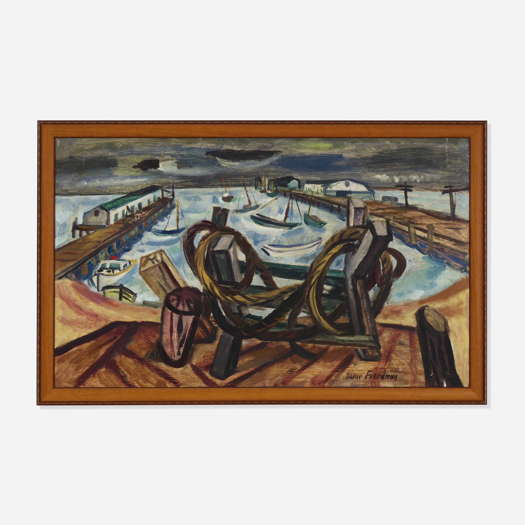 202: Maurice Freedman / Untitled (Harbor) (1 of 2)