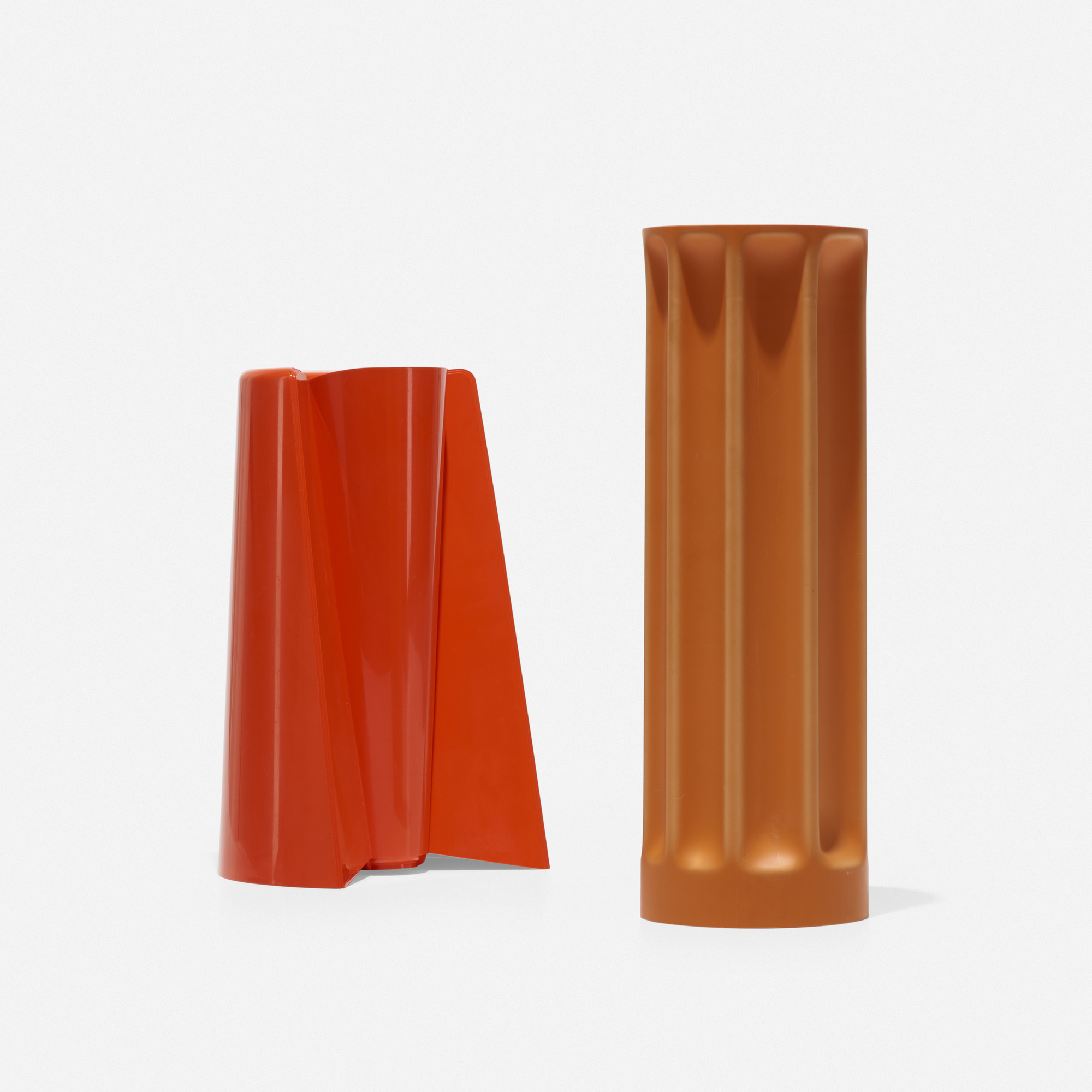 202: Enzo Mari / Pago Pago and Bambu vases (1 of 2)