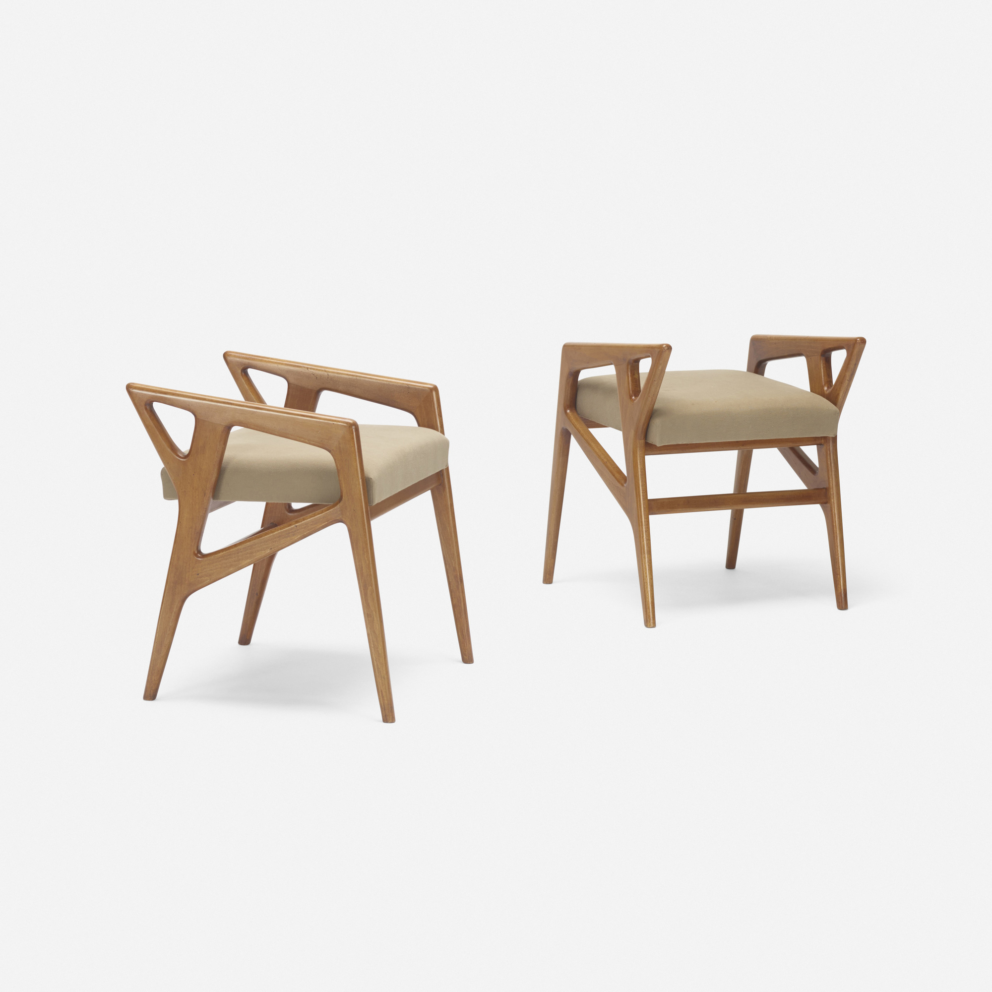 202: Gio Ponti / benches, pair (2 of 3)