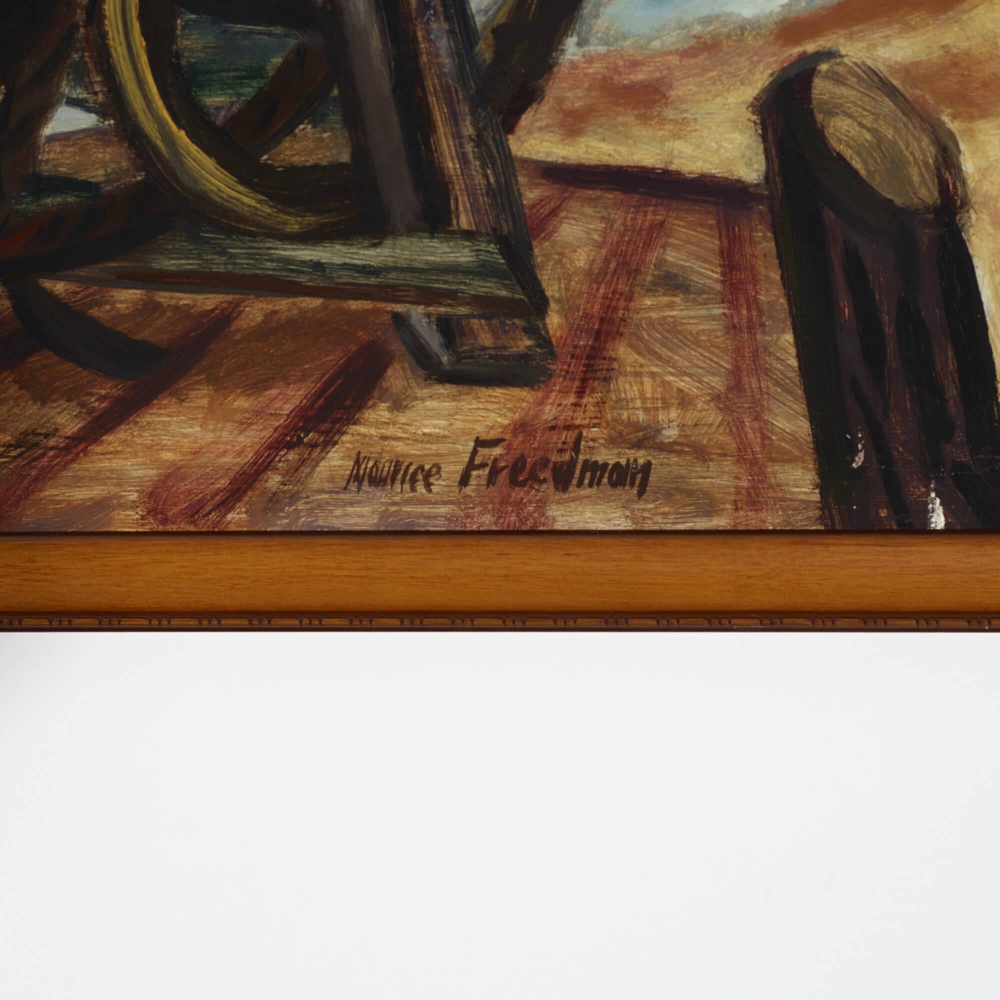 202: Maurice Freedman / Untitled (Harbor) (2 of 2)