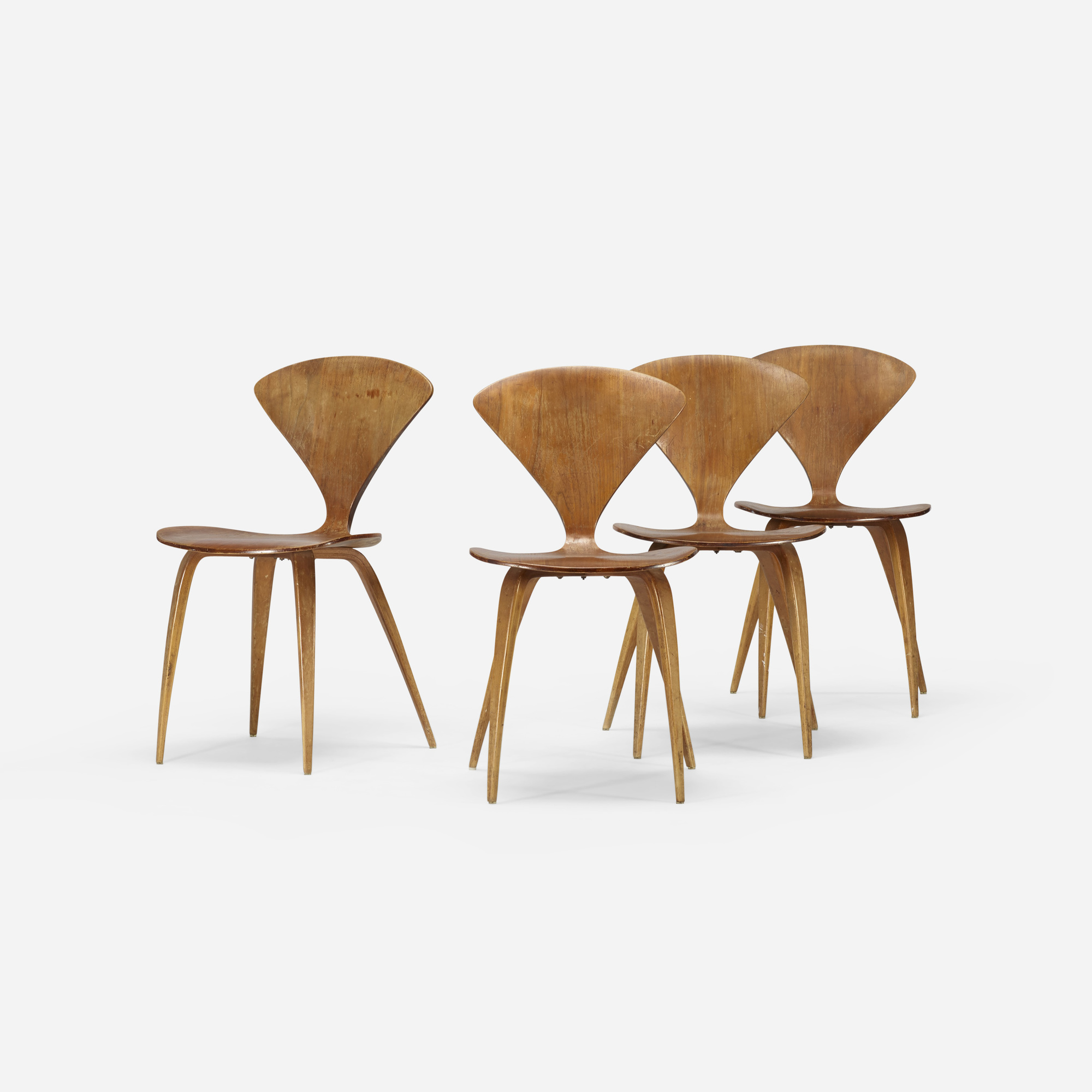 202: Norman Cherner / dining chairs, set of four (2 of 4)