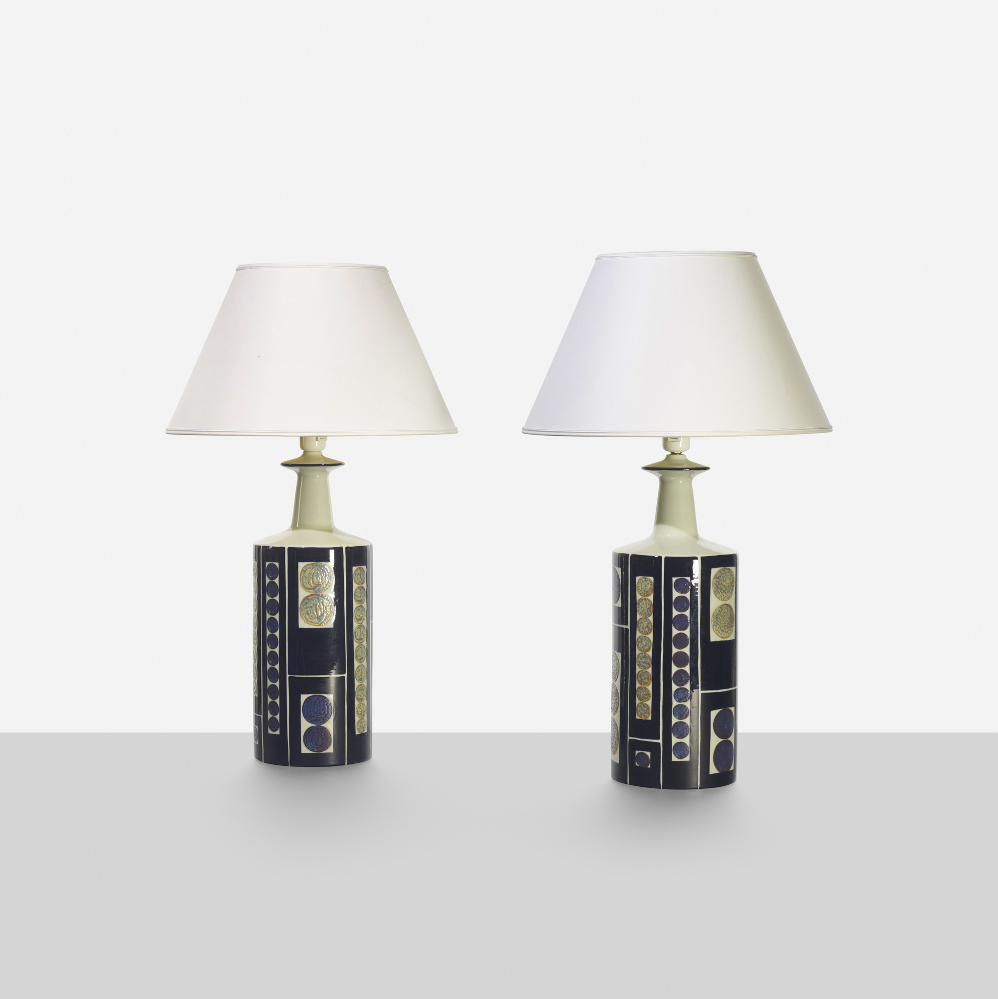 202: Royal Copenhagen / table lamps, pair (2 of 4)