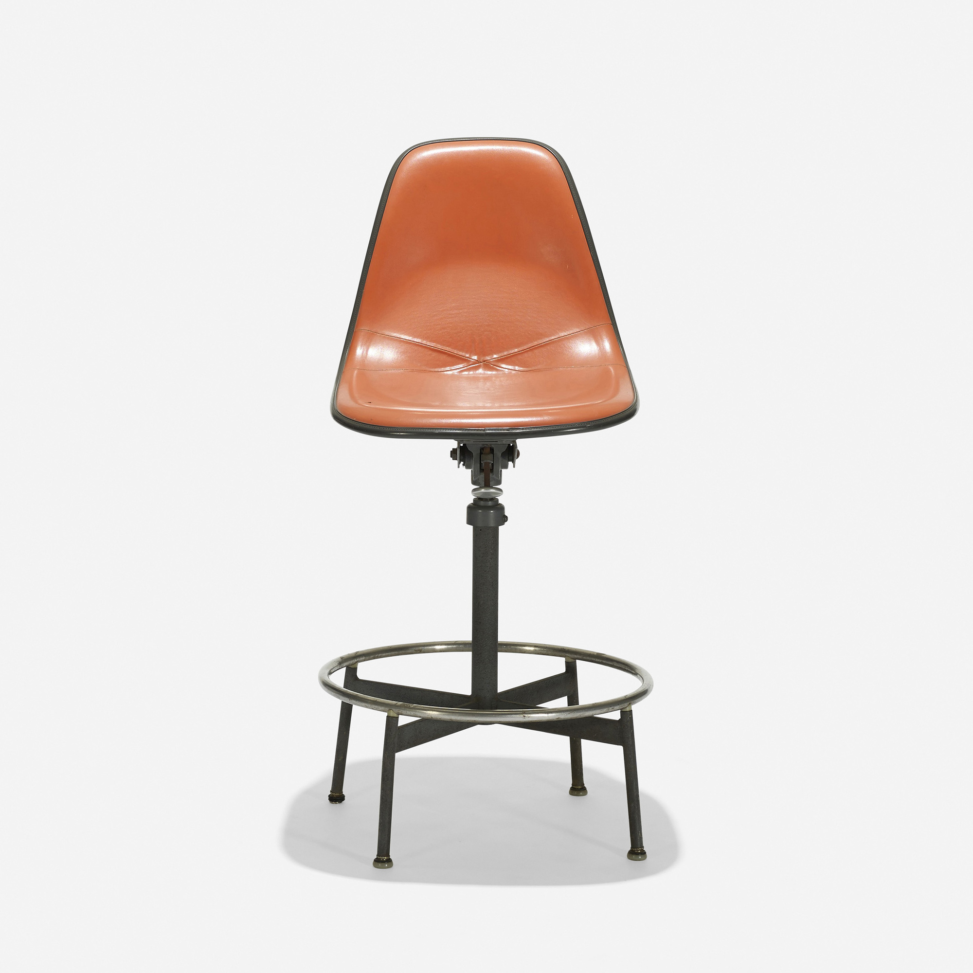 203 Charles and Ray Eames / Drafting chair model 622TS-1 (1  sc 1 st  Wright Auctions & 203: CHARLES AND RAY EAMES Drafting chair model 622TS-1 u003c Eames ...