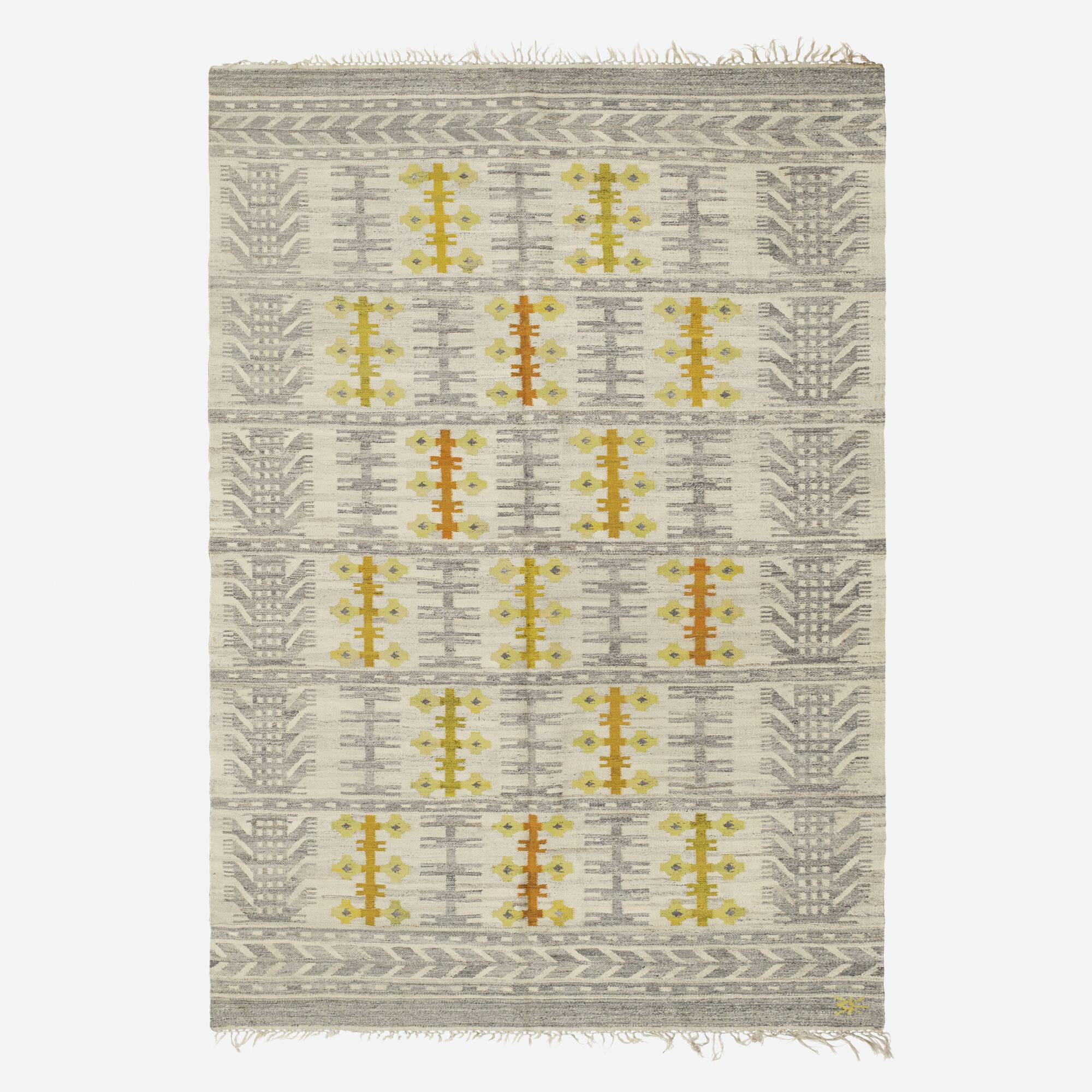 203: Swedish / flatweave carpet (1 of 2)