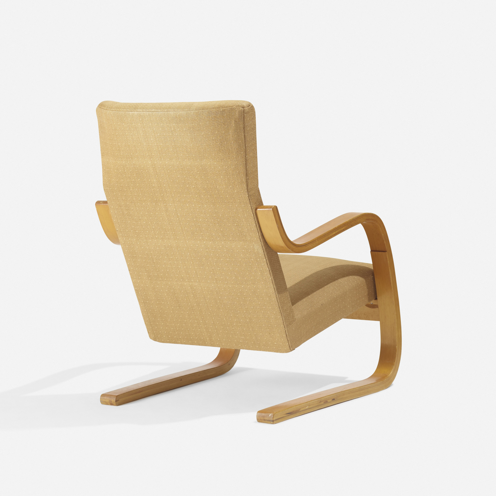 ... 203: Alvar Aalto / Early Cantilevered Armchair, Model 36/401 (2 Of
