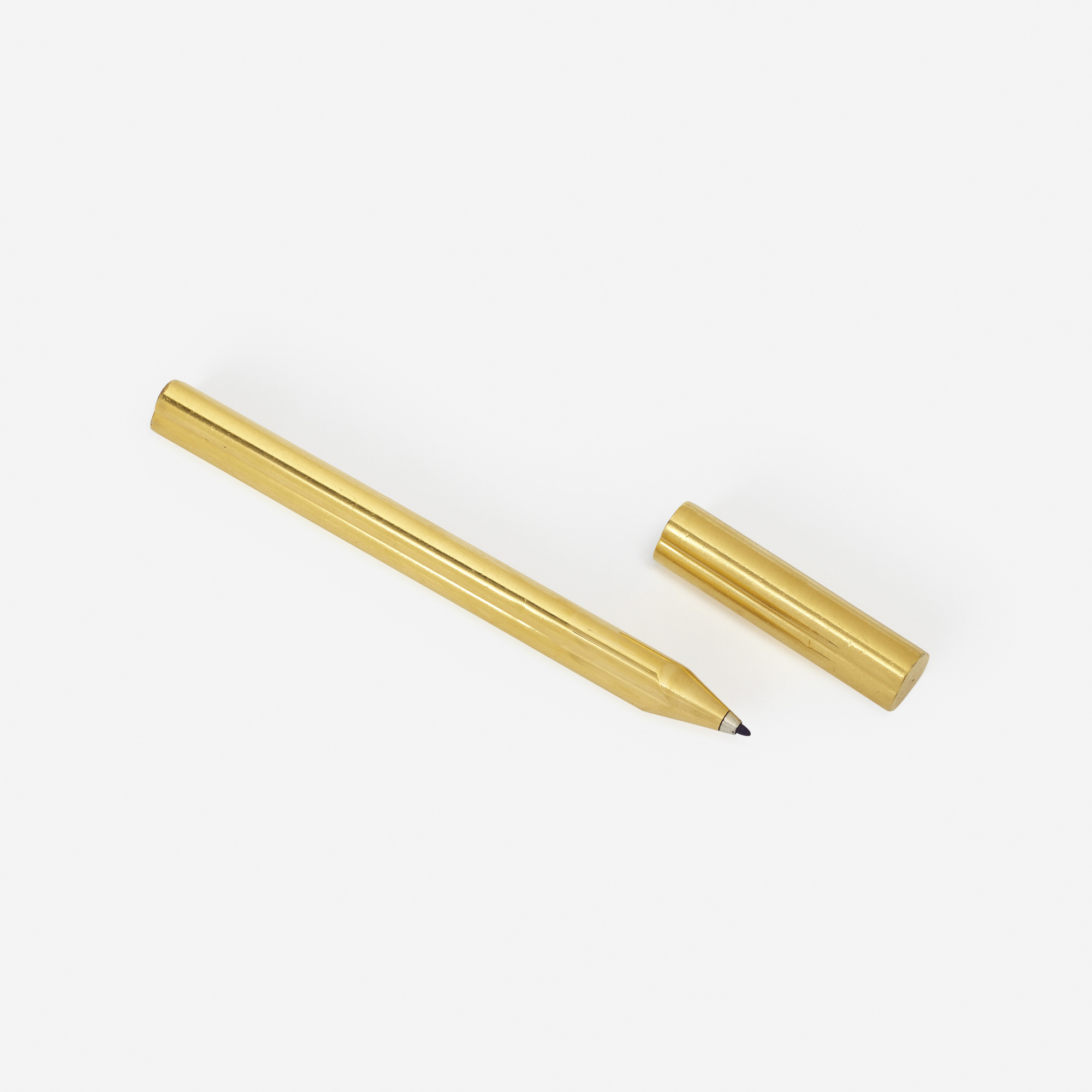 204: Bulgari / A gold-plated pen (1 of 2)