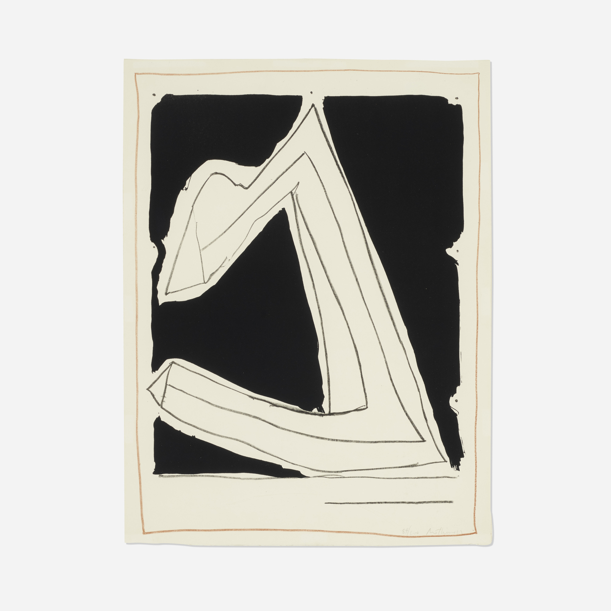 204: Robert Motherwell / Summertime in Italy (with Lines) (1 of 1)