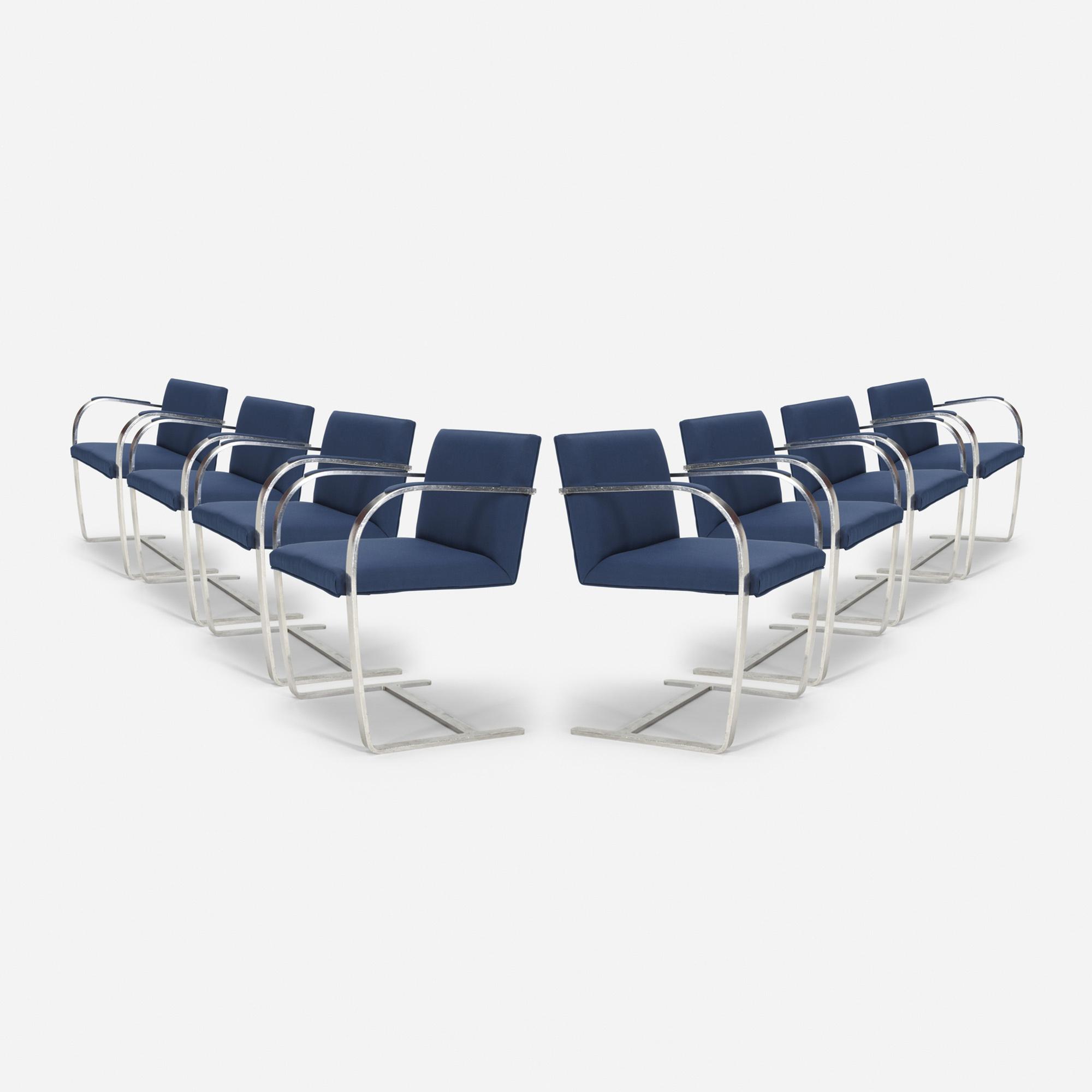 Mies Van Der Rohe Chair Brno Barcelona 2 Seater Sofa Mies