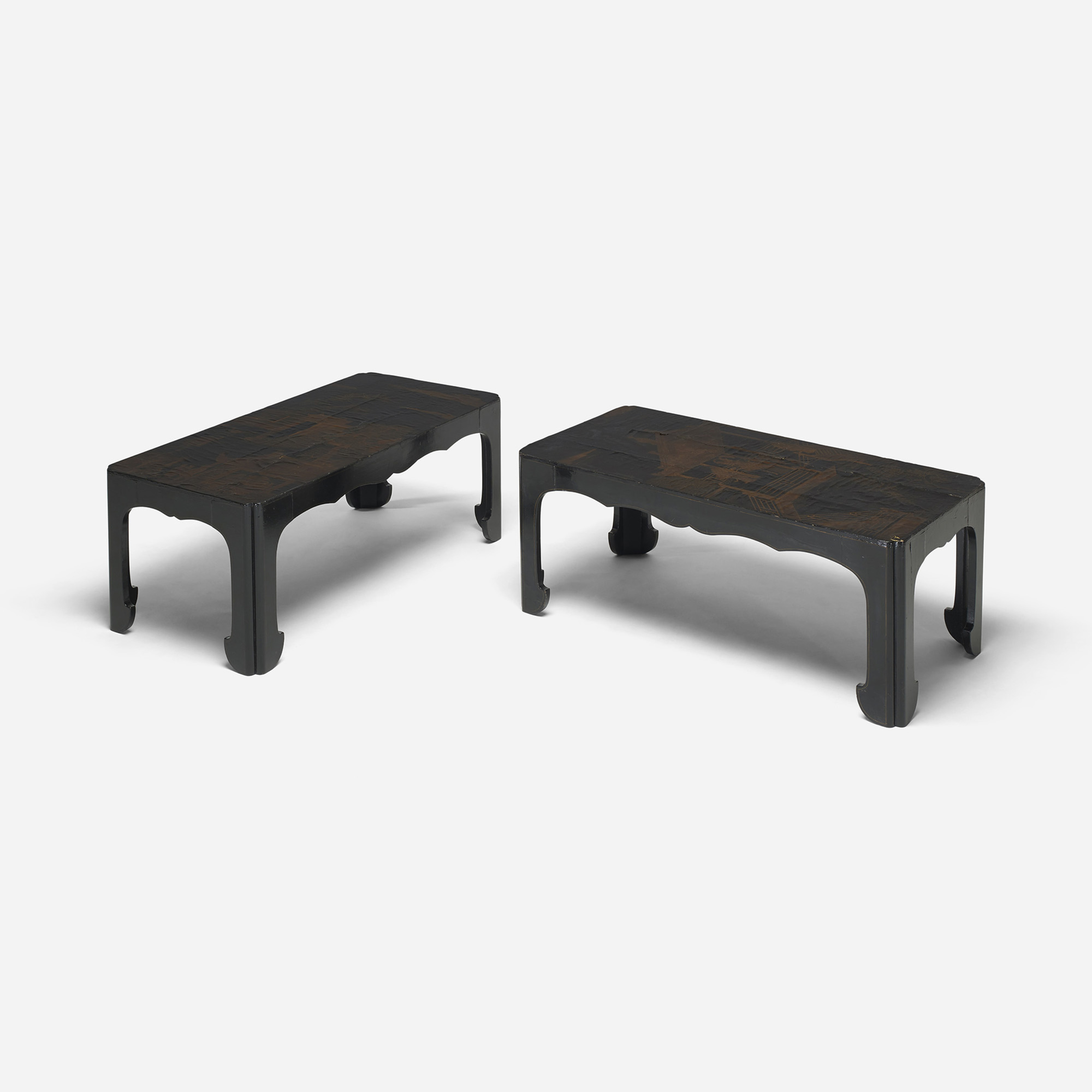 204: Chinese / occasional tables, pair (2 of 4)