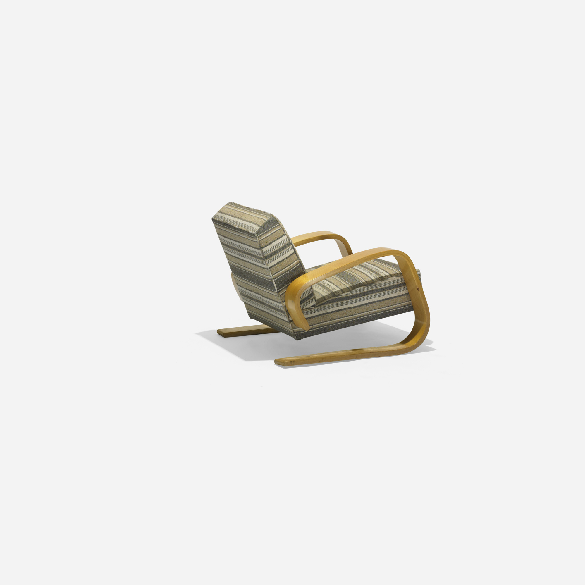 204 ALVAR AALTO Tank lounge chair model 37400 Scandinavian