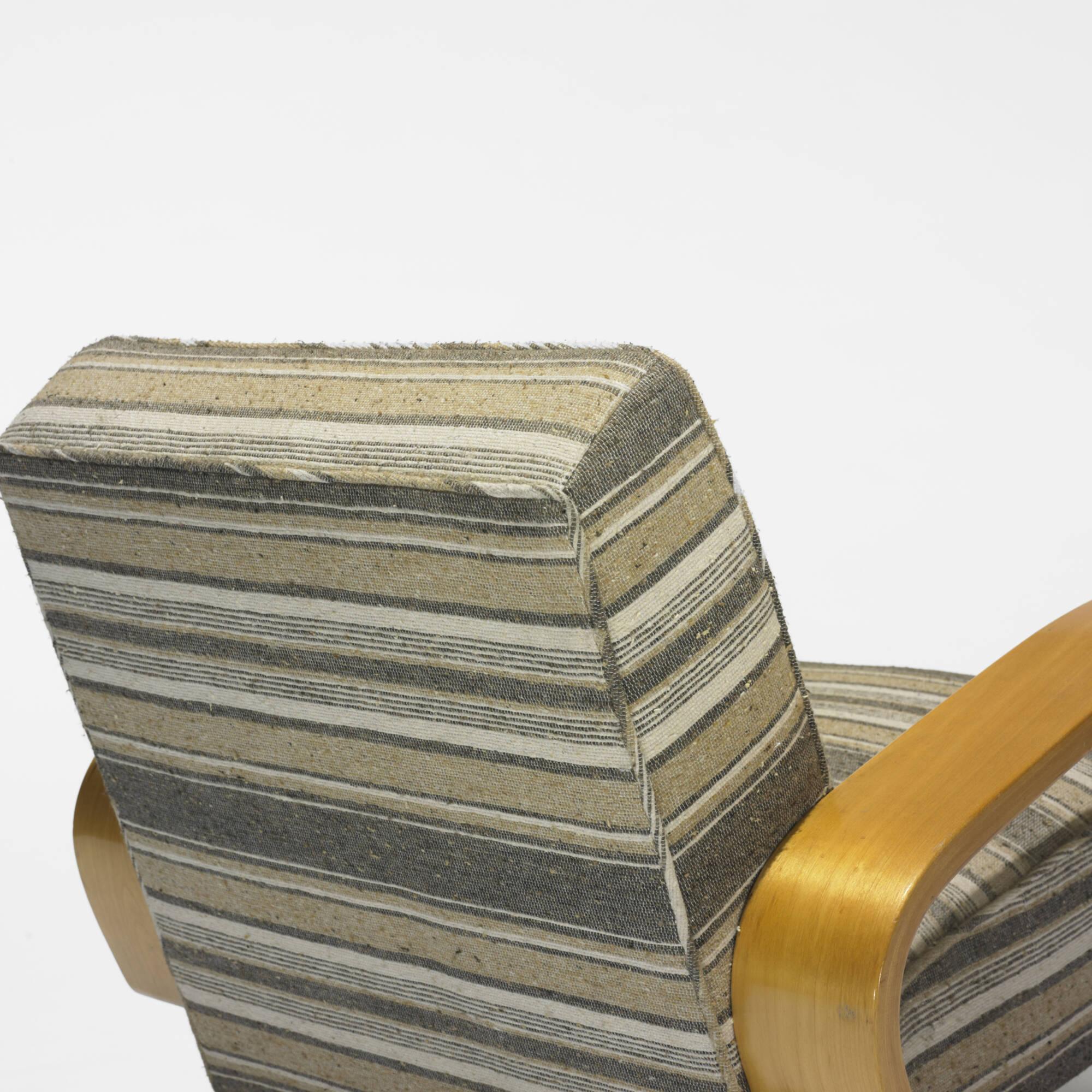 204 Alvar Aalto Tank lounge chair model 37 400 Scandinavian