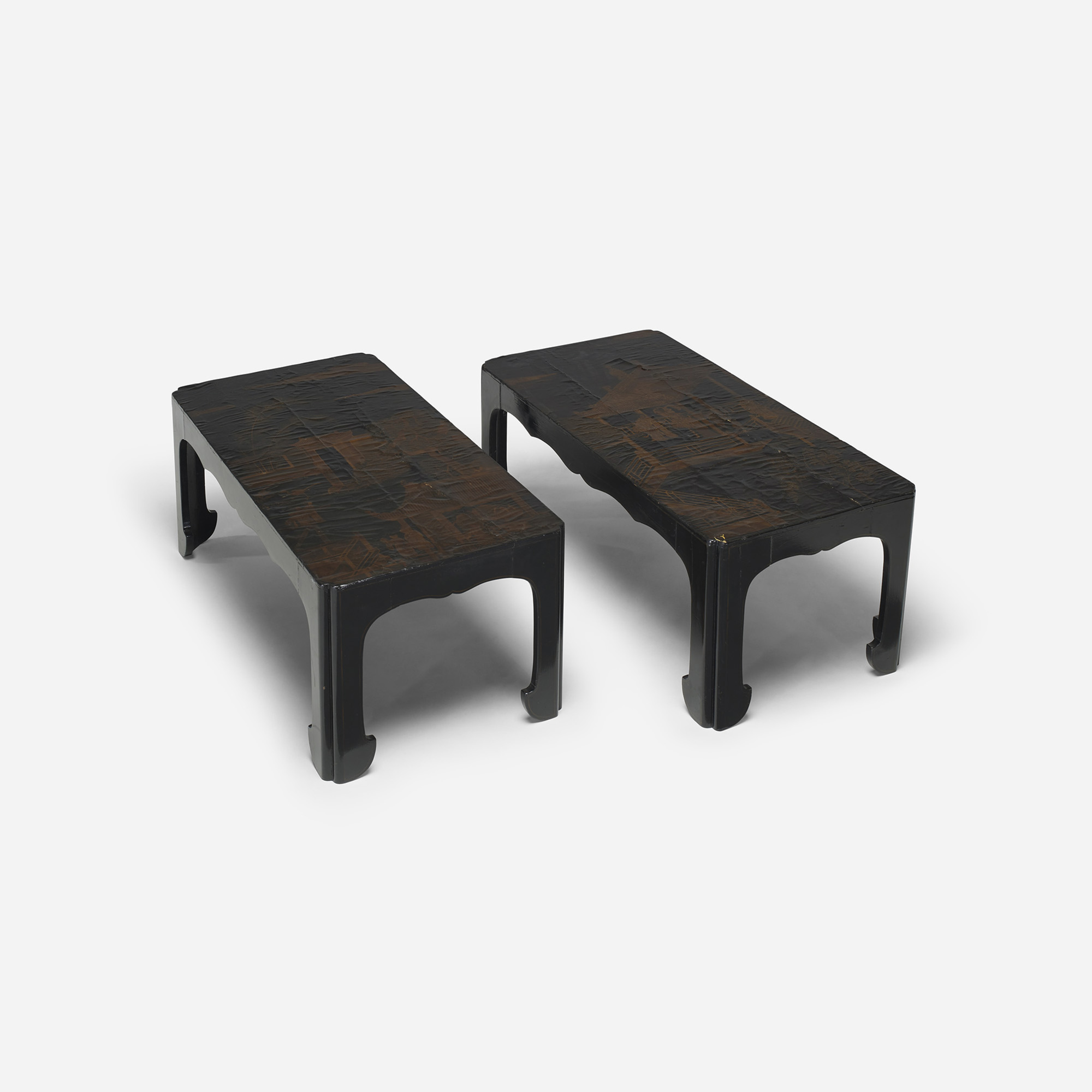 204: Chinese / occasional tables, pair (3 of 4)