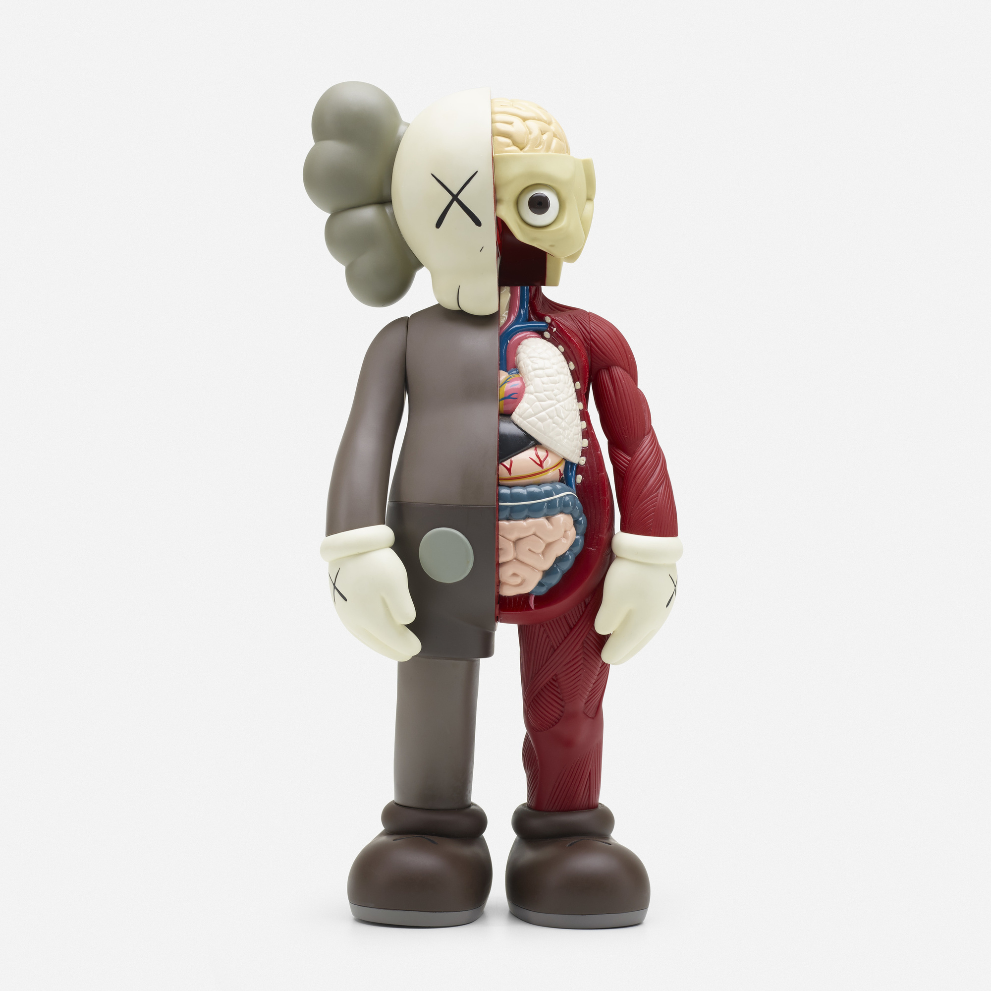 e8f05098dd90 205  KAWS (Brian Donnelly)   Companion – Dissected Brown Colorway (1 of