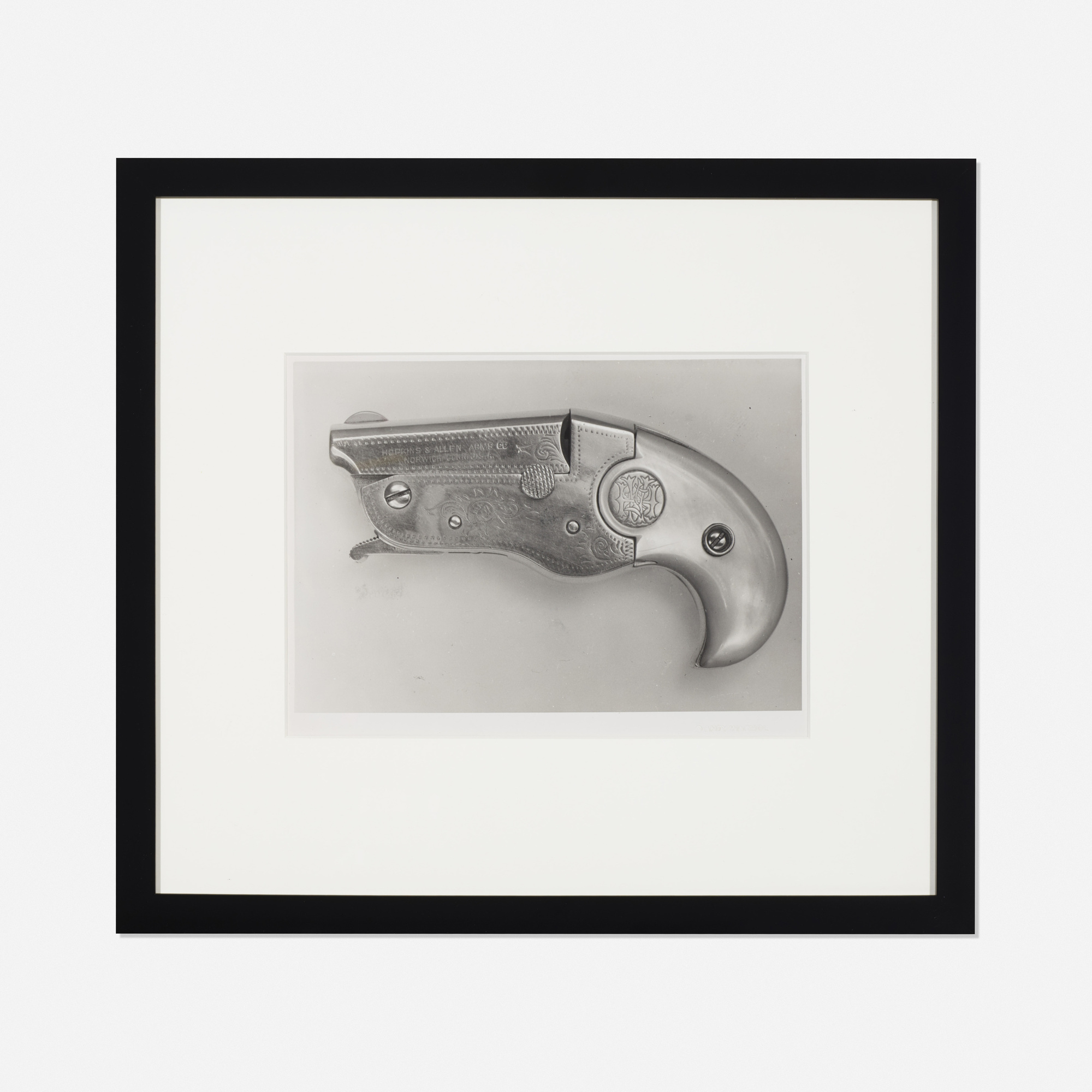 205: Andy Warhol / Untitled (Hopkins & Allen Vest Pocket Derringer Gun) (1 of 2)