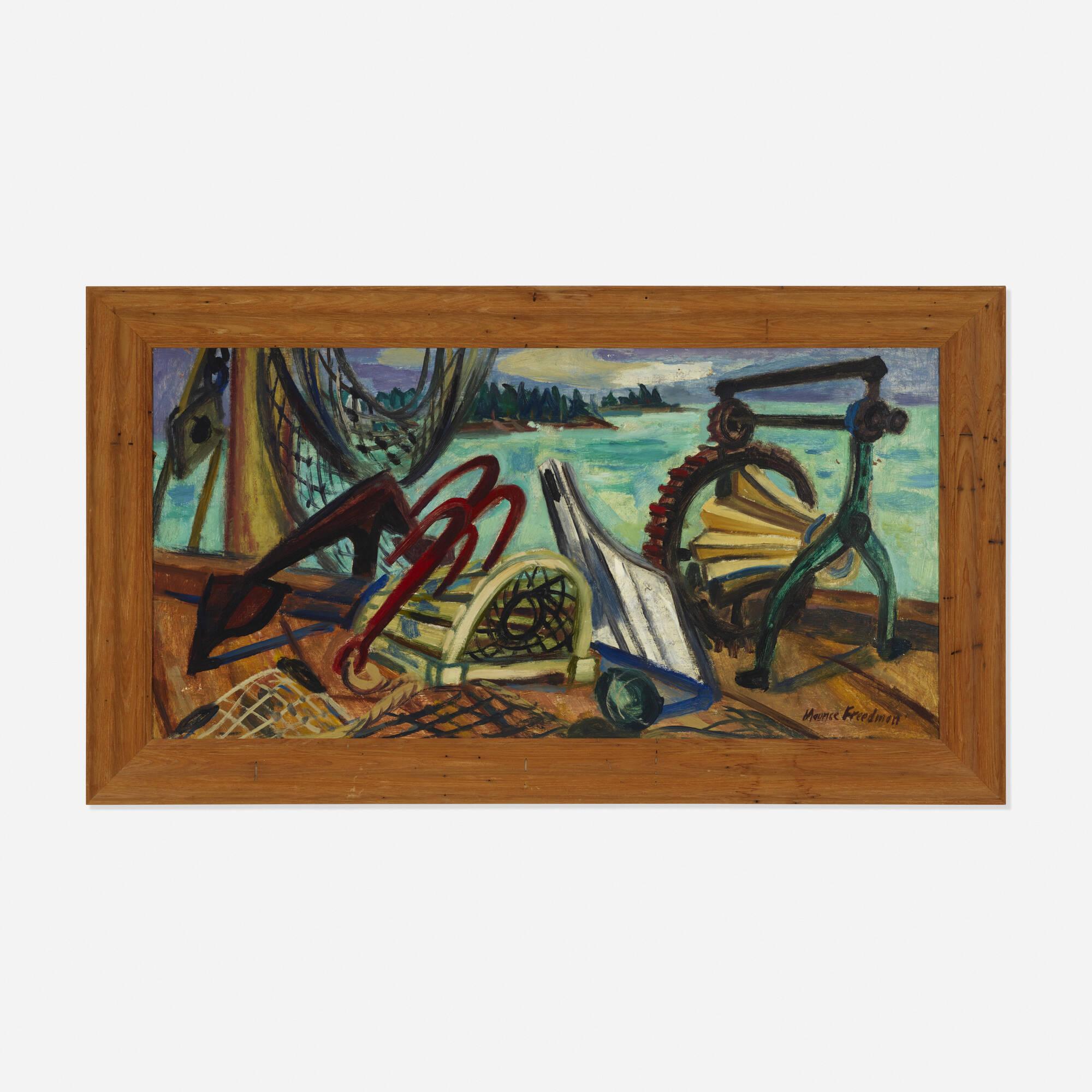 205: Maurice Freedman / Untitled (Harbor) (1 of 2)