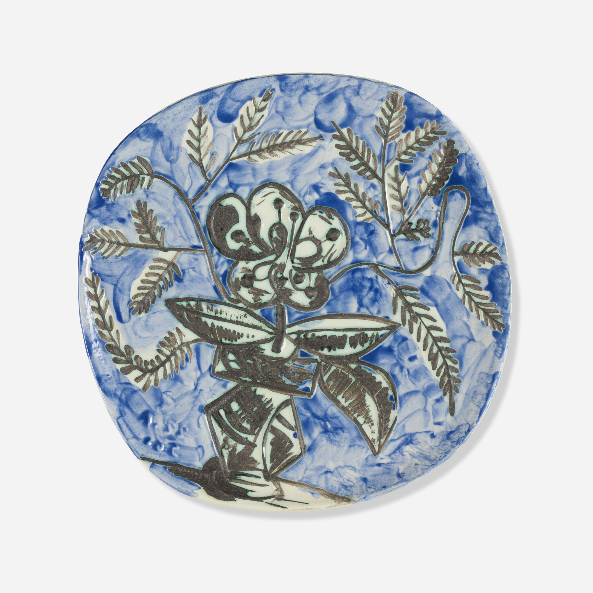 205: Pablo Picasso / Vase with Bunch plate (1 of 2)