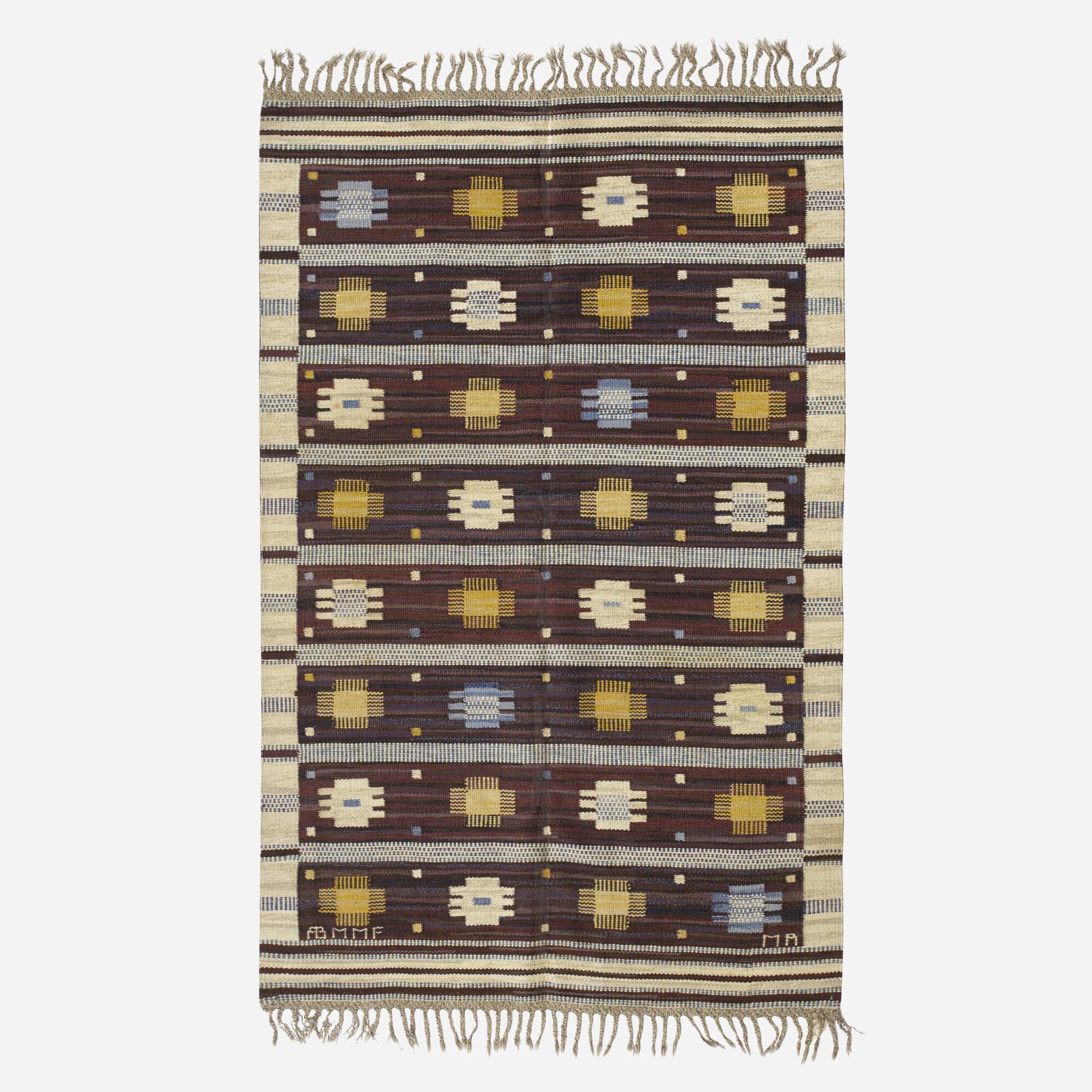 205: Marianne Richter / Hästhov flatweave carpet (1 of 1)
