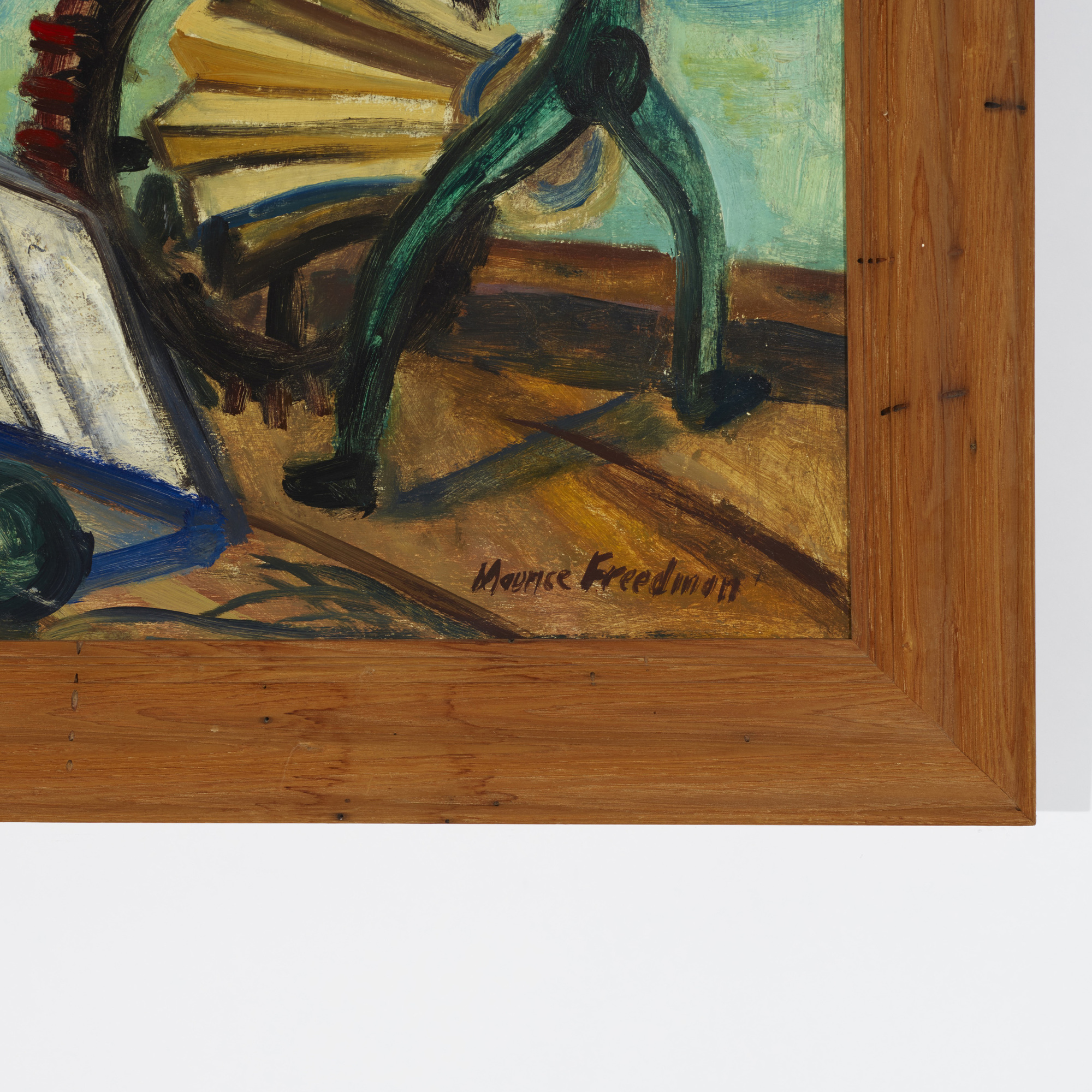 205: Maurice Freedman / Untitled (Harbor) (2 of 2)