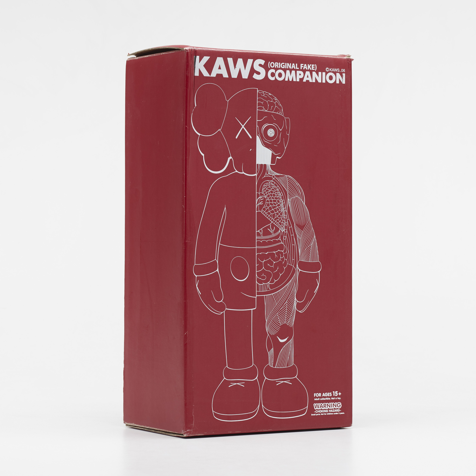 205: KAWS (BRIAN DONNELLY), Companion – Dissected Brown