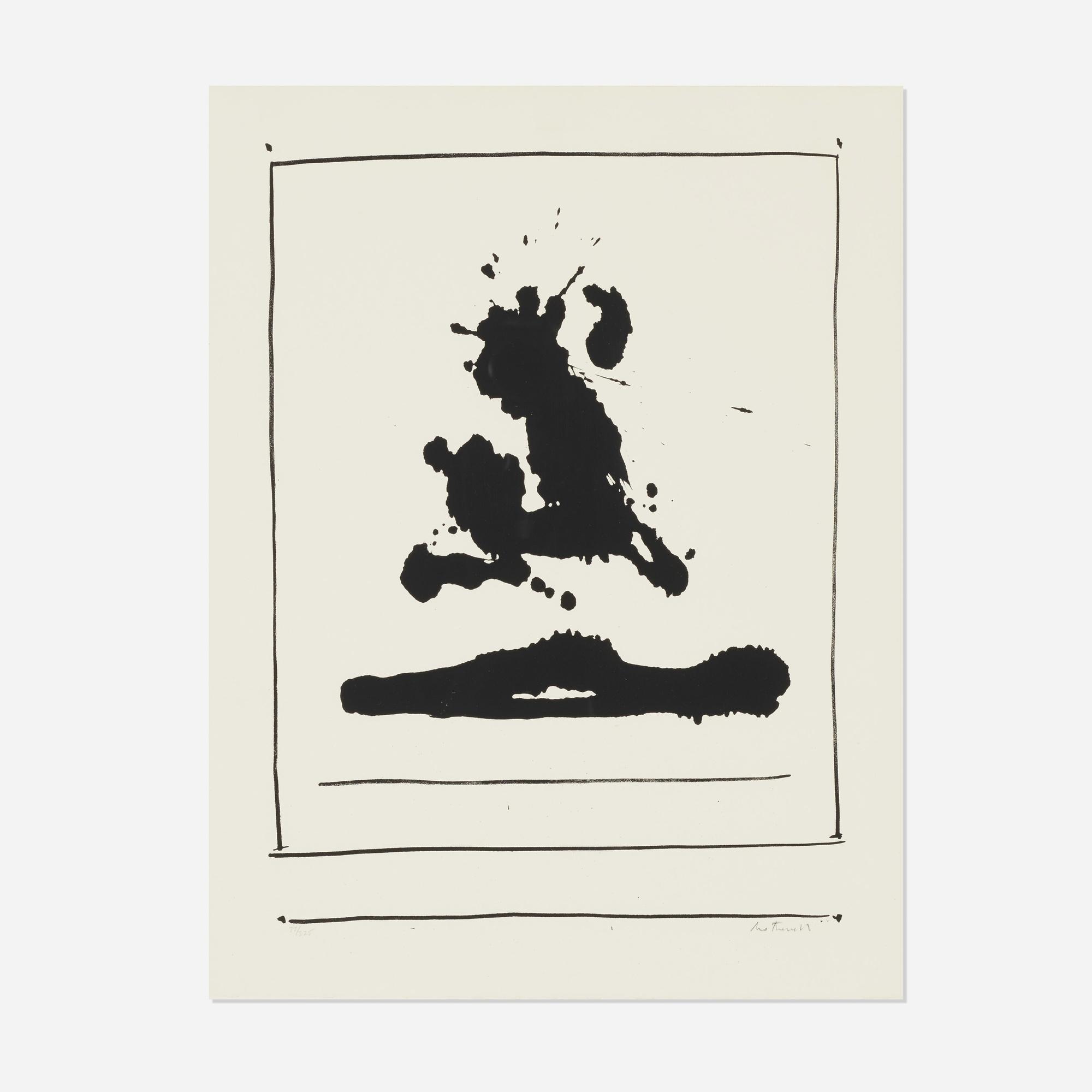 206: Robert Motherwell / New York International: Untitled (1 of 1)