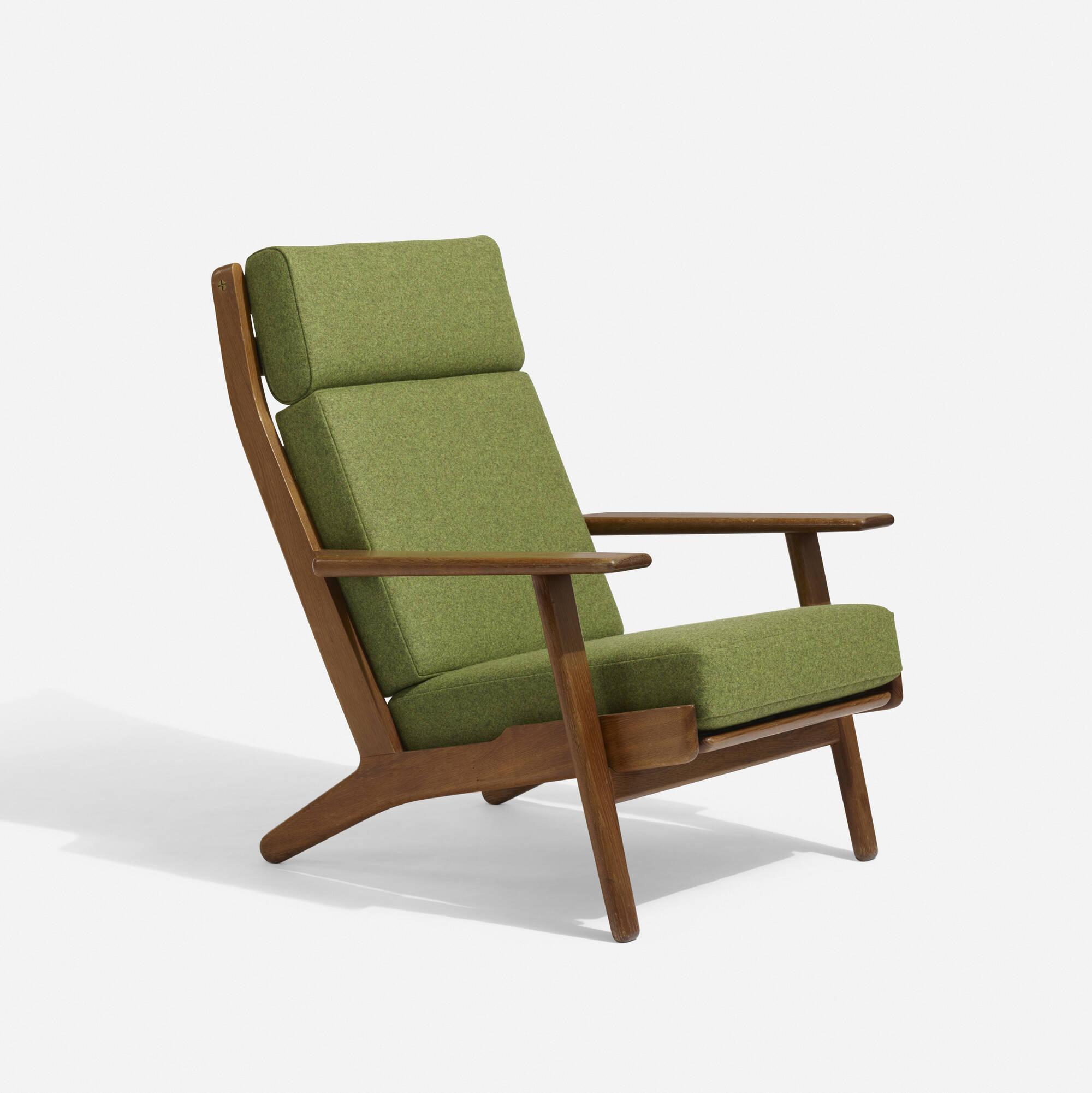 Superb 206: Hans J. Wegner / Lounge Chair, Model GE290 A (1