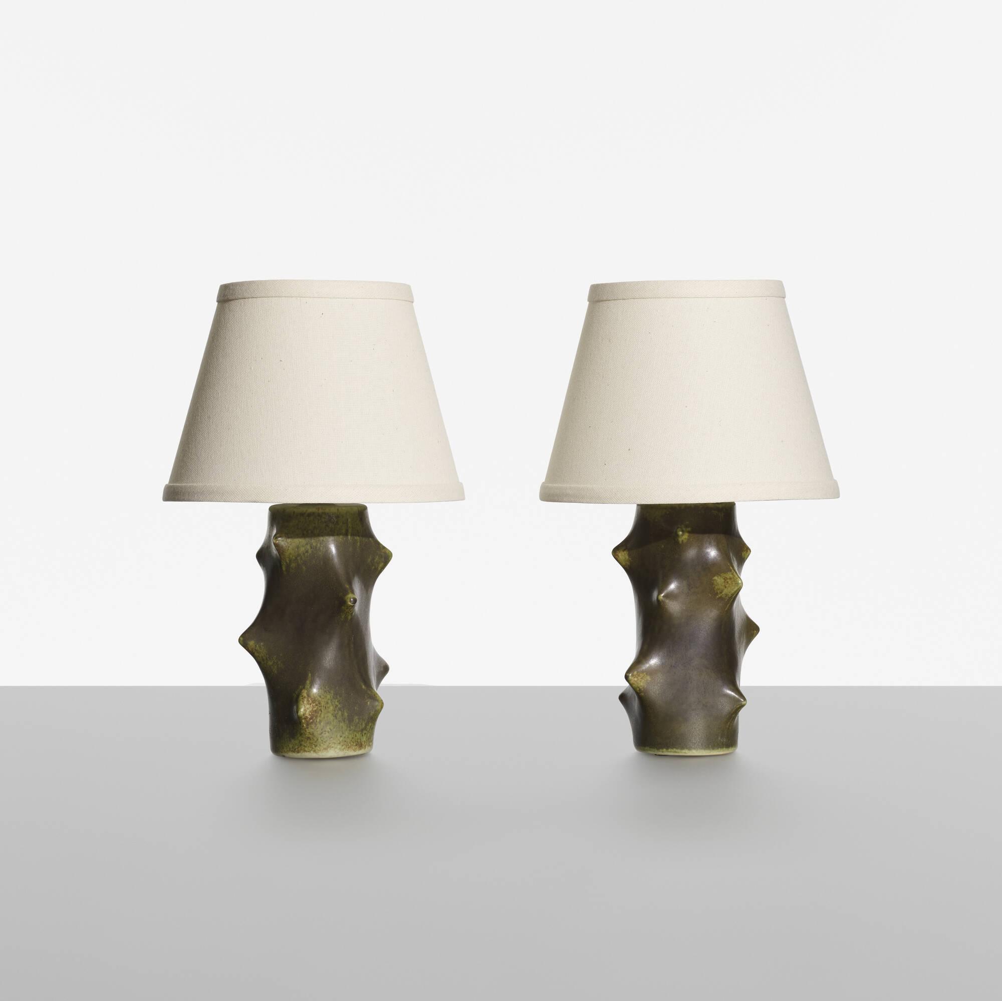 206: Knud Basse / table lamps, pair (1 of 2)