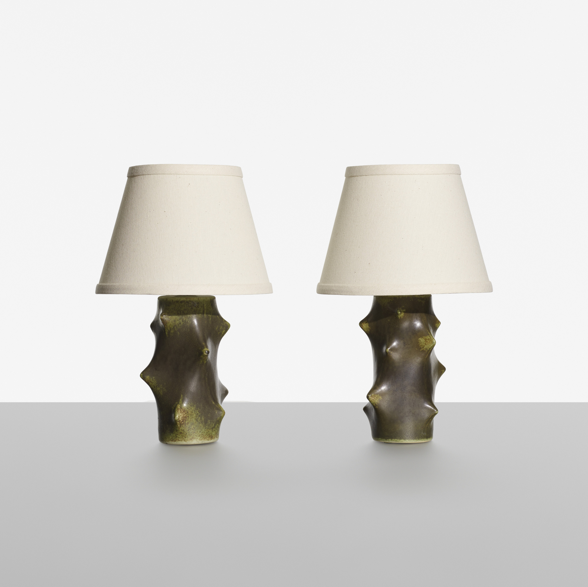 206: Knud Basse / Table Lamps, Pair (1 Of 2)