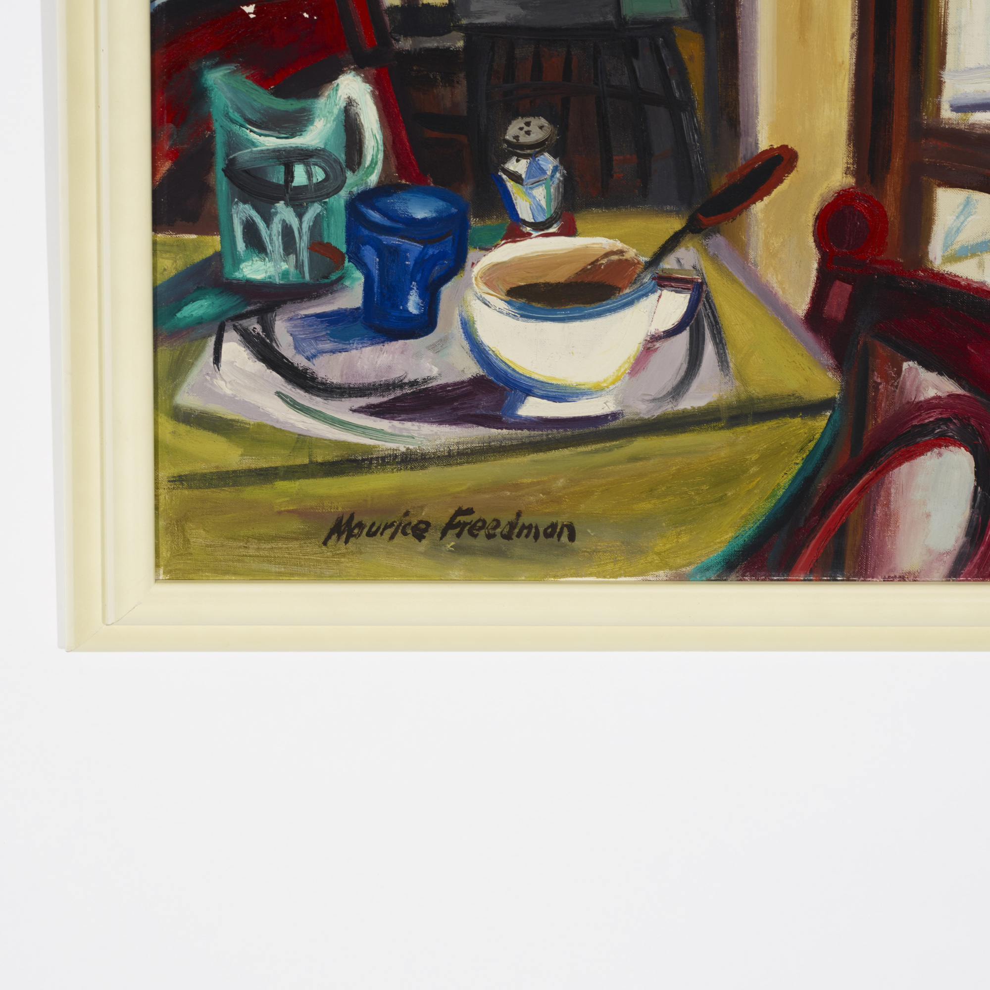 206: Maurice Freedman / Untitled (Interior View) (2 of 2)