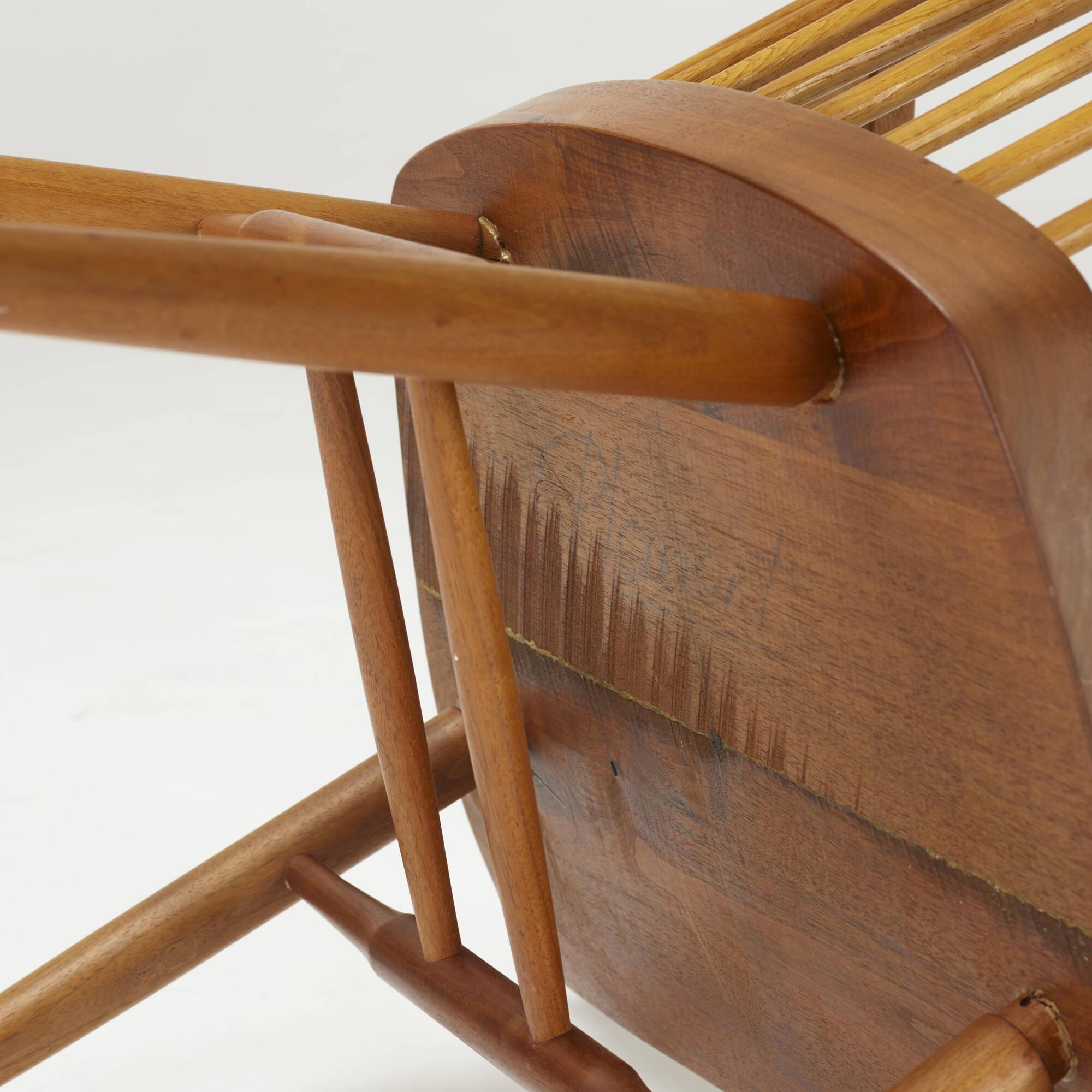 ... 206: George Nakashima / New Chairs, Pair (4 Of 4)
