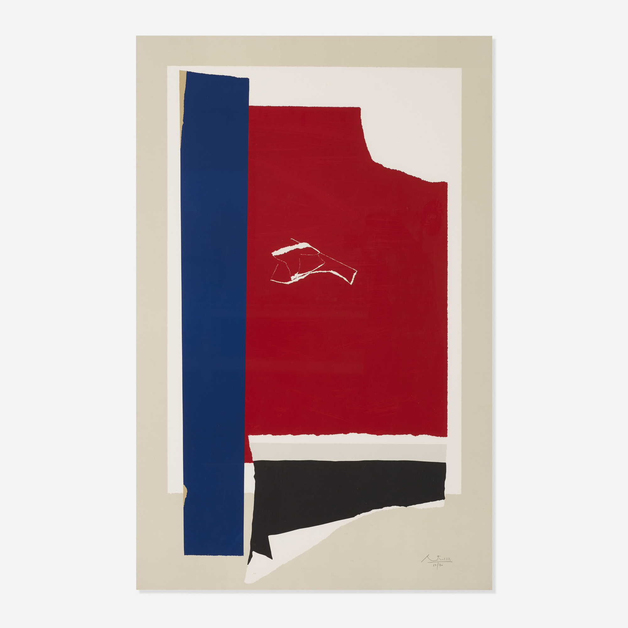 207: Robert Motherwell / On the Wing (1 of 2)