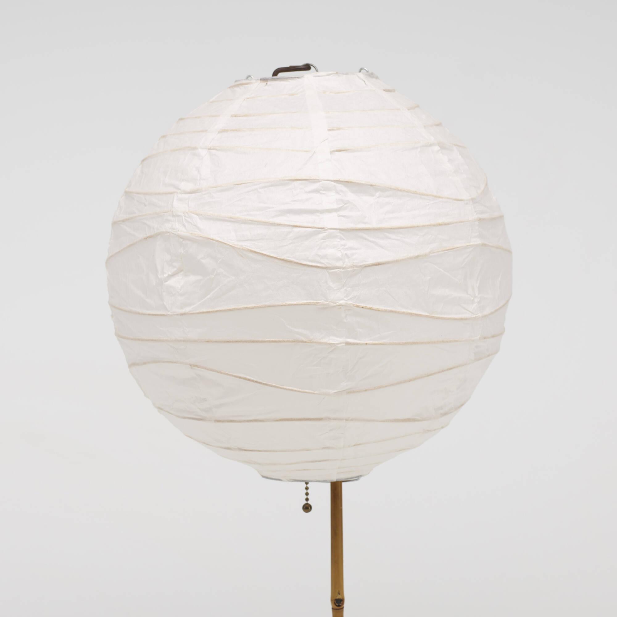 207: ISAMU NOGUCHI, Akari table lamps, pair