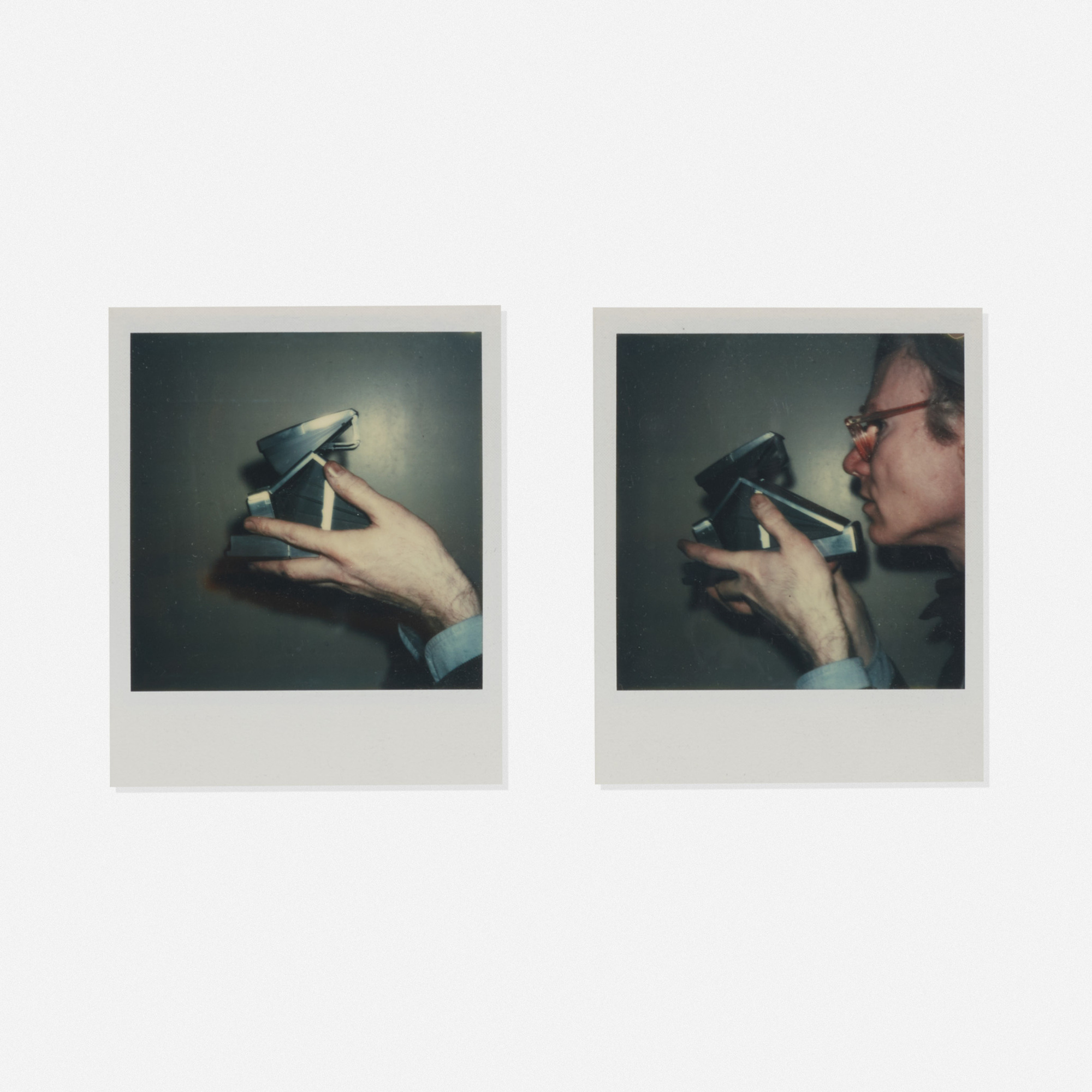 208: Andy Warhol / Self-portrait with camera (diptych) (1 of 1)