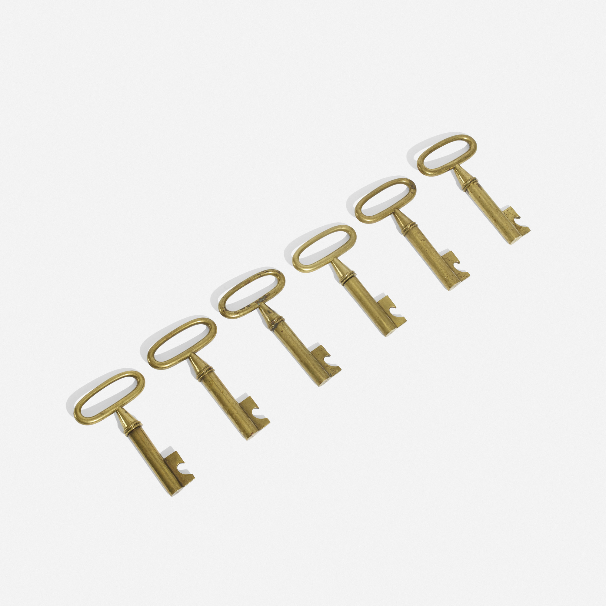 208: Carl Auböck II / corkscrews, set of six (1 of 3)
