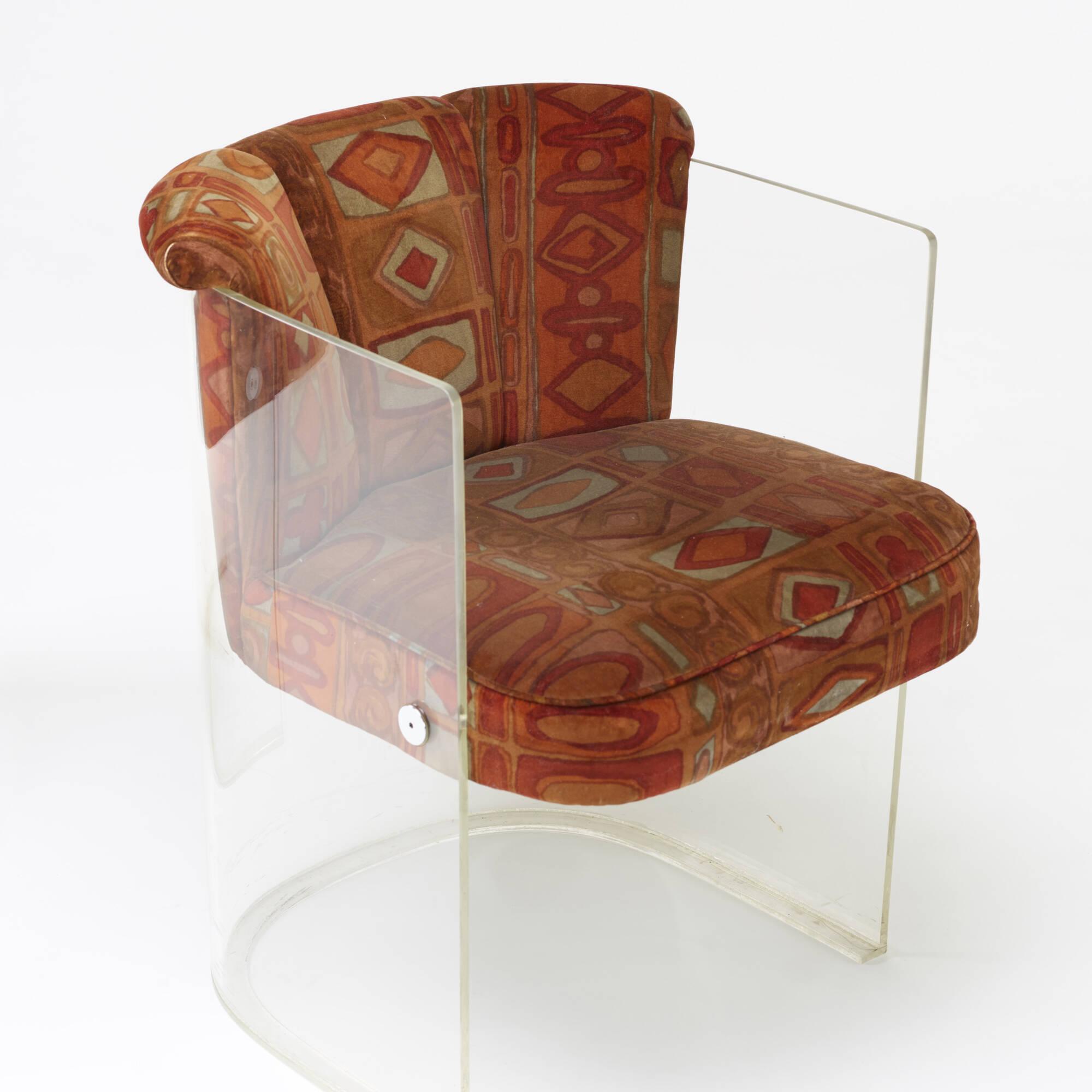 208: Vladimir Kagan / chairs model 6700, pair (3 of 3)