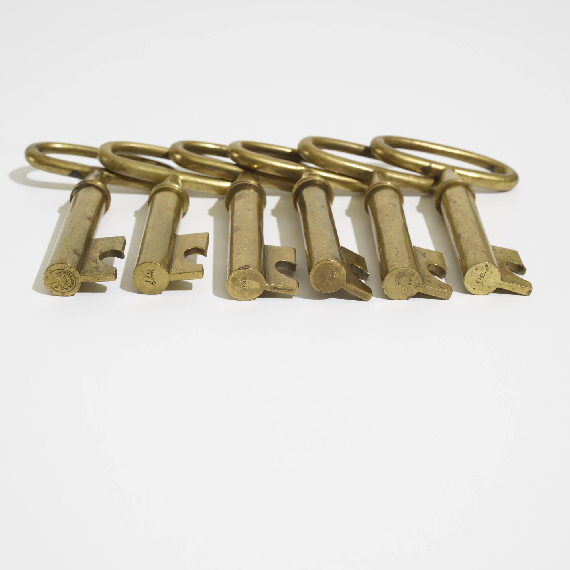 208: Carl Auböck II / corkscrews, set of six (3 of 3)