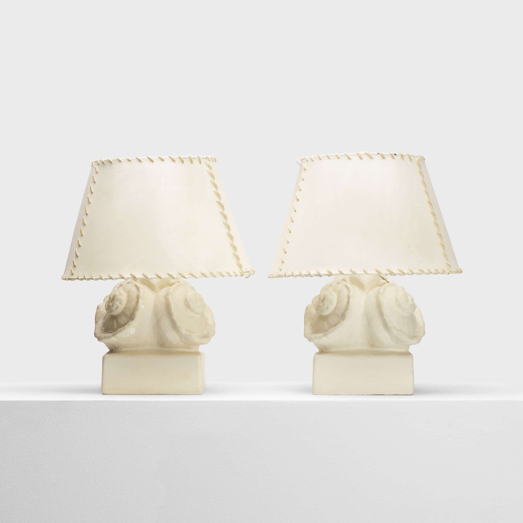 209: Selected by Michael Taylor / table lamps, pair (1 of 2)