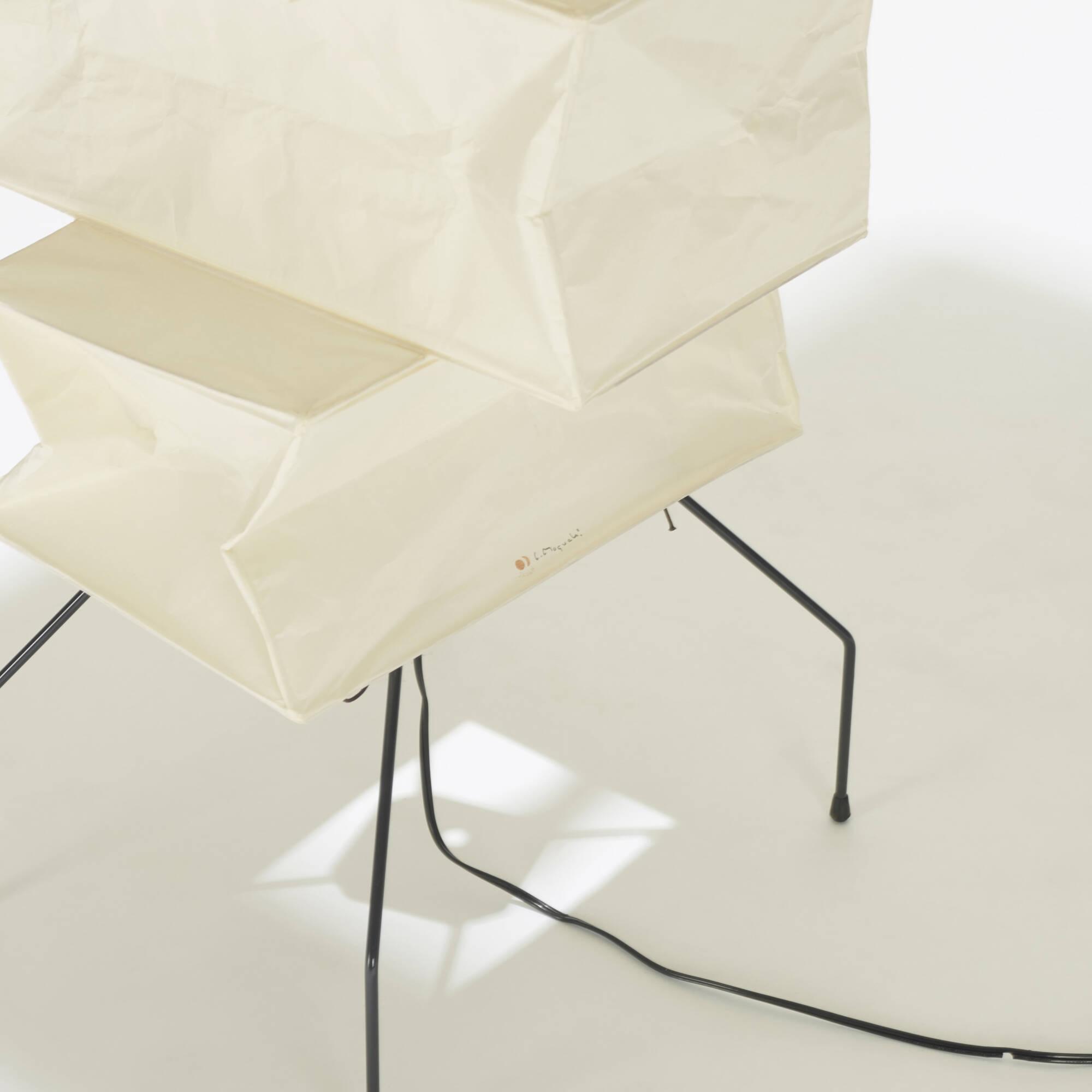 209: ISAMU NOGUCHI, Akari floor lamp, model UF4-L10 < American ...