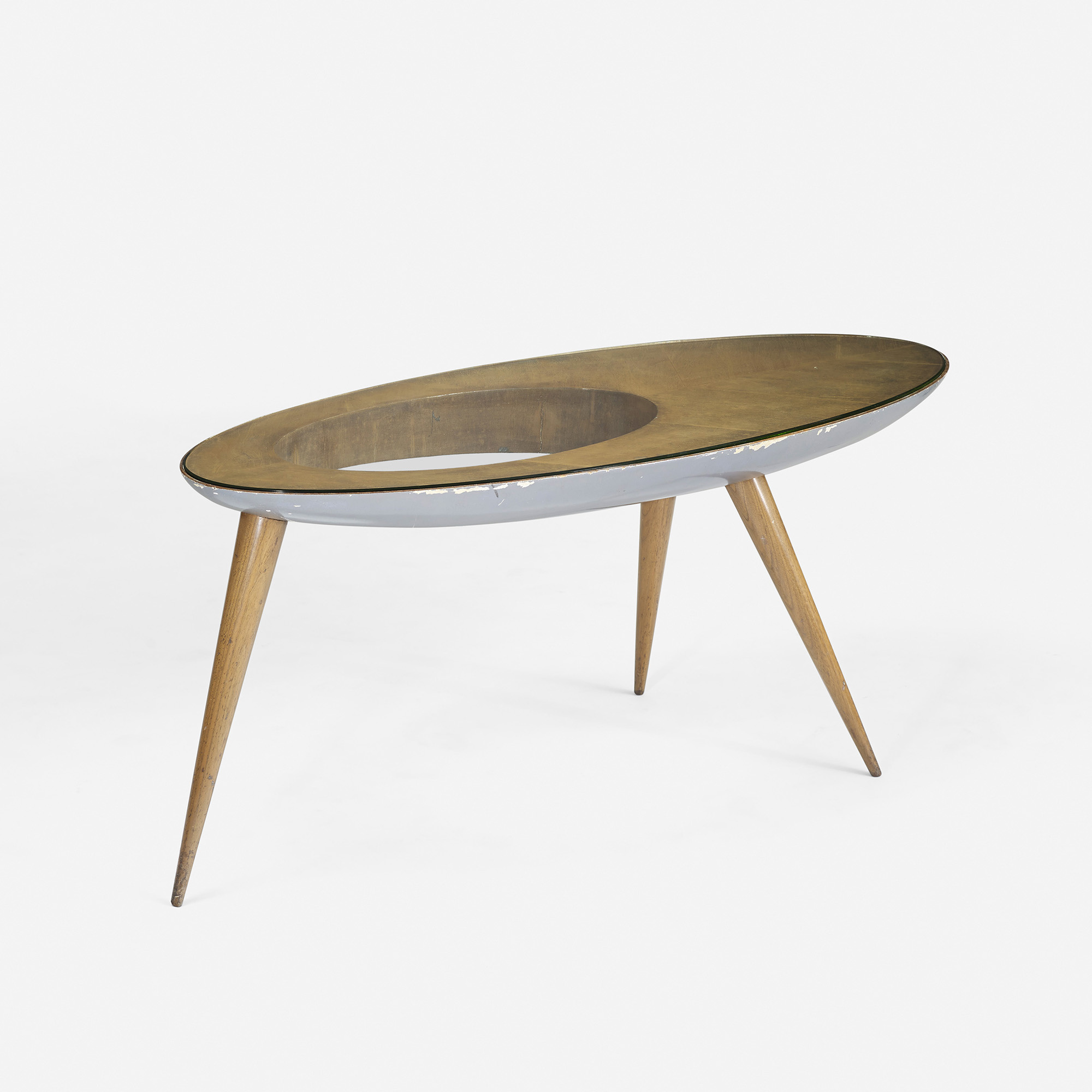 210 gio ponti rare and important coffee table for Table design 2014