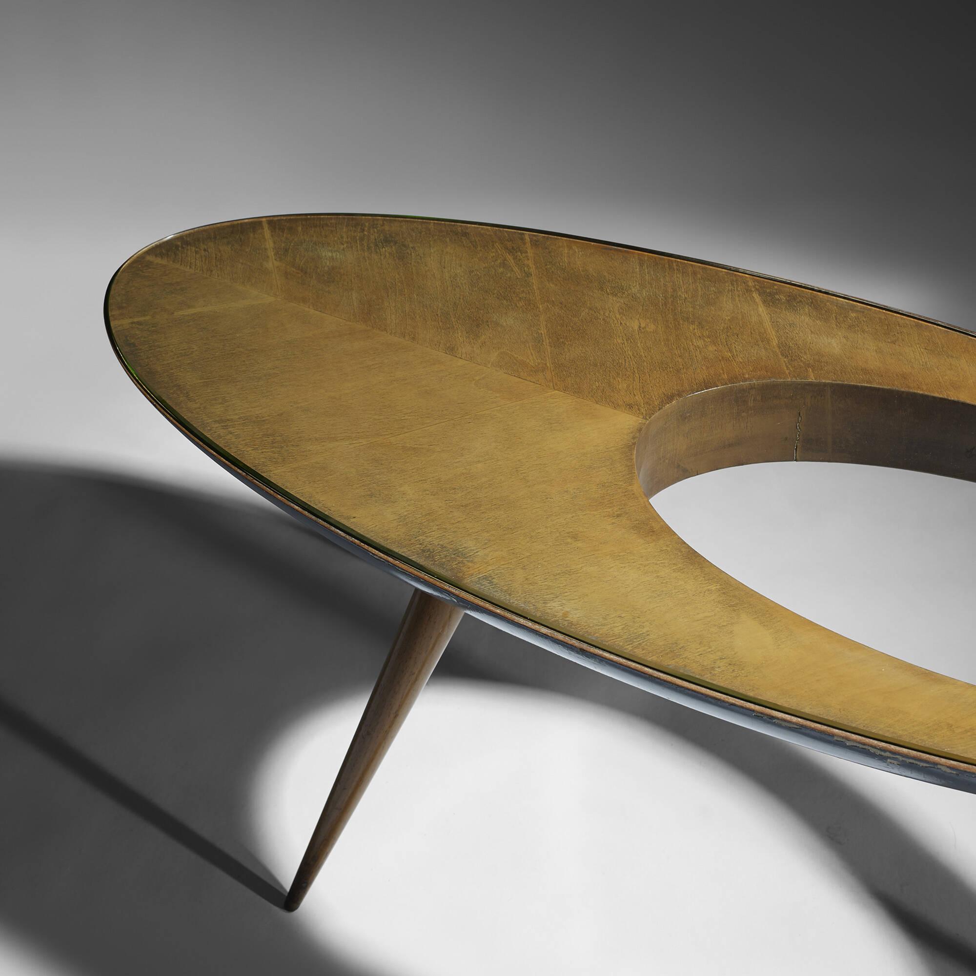 210 Gio Ponti Rare and Important coffee table Design 12 June