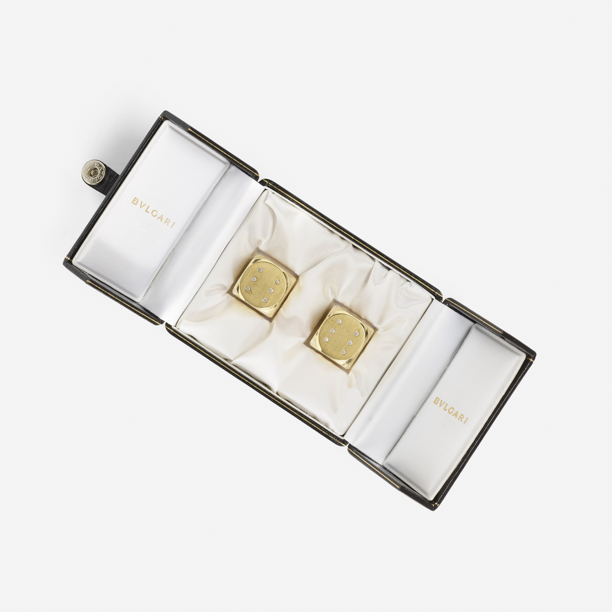 210: Bulgari / A pair of gold and diamond dice (3 of 3)
