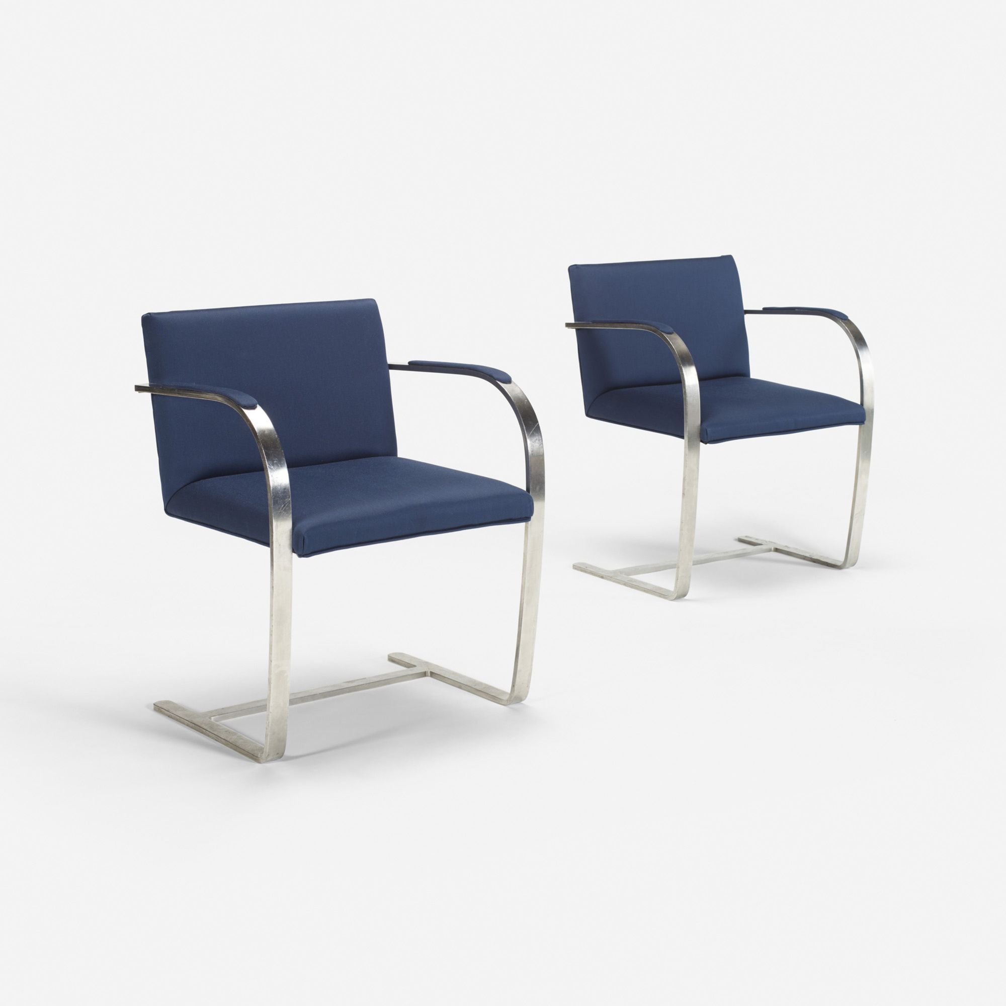 211: Ludwig Mies van der Rohe / Brno chairs from The Four Seasons, pair (1 of 1)