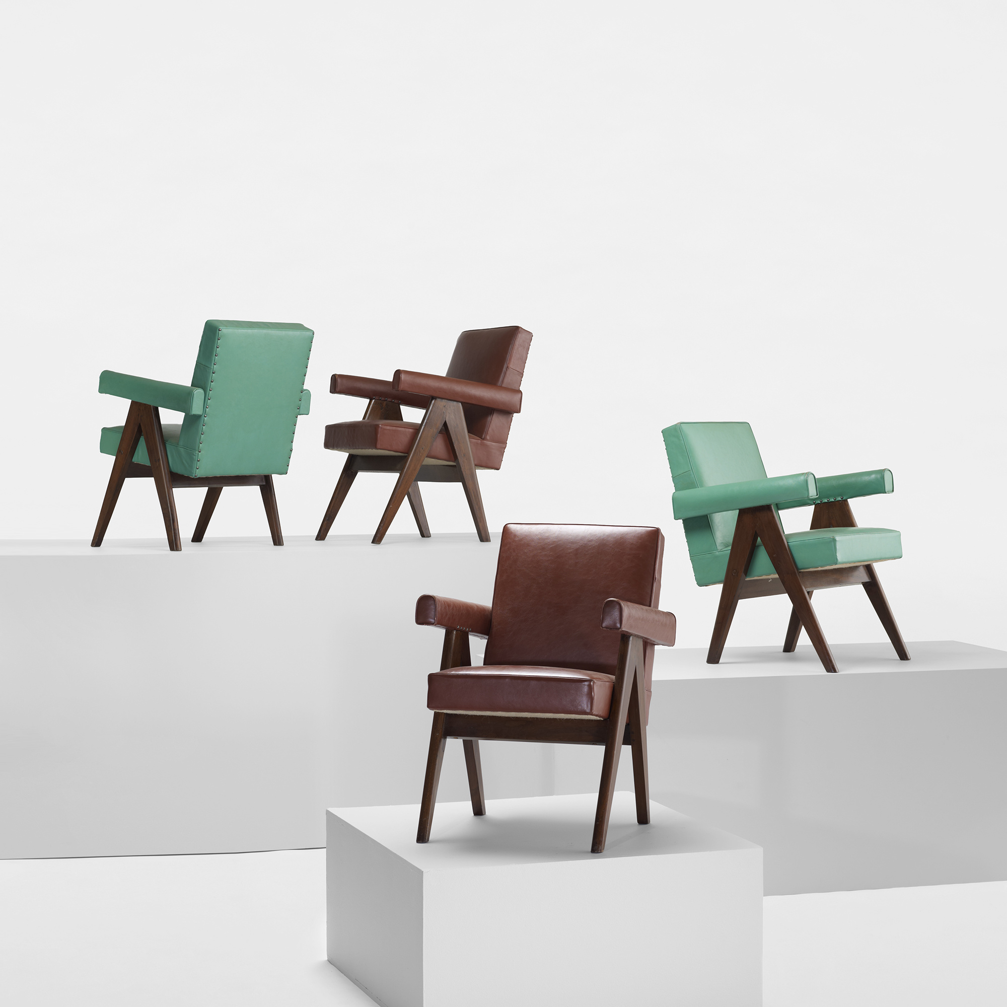 Modern Home Design October 2012: 211: PIERRE JEANNERET, Pair Of Committe Armchairs From The