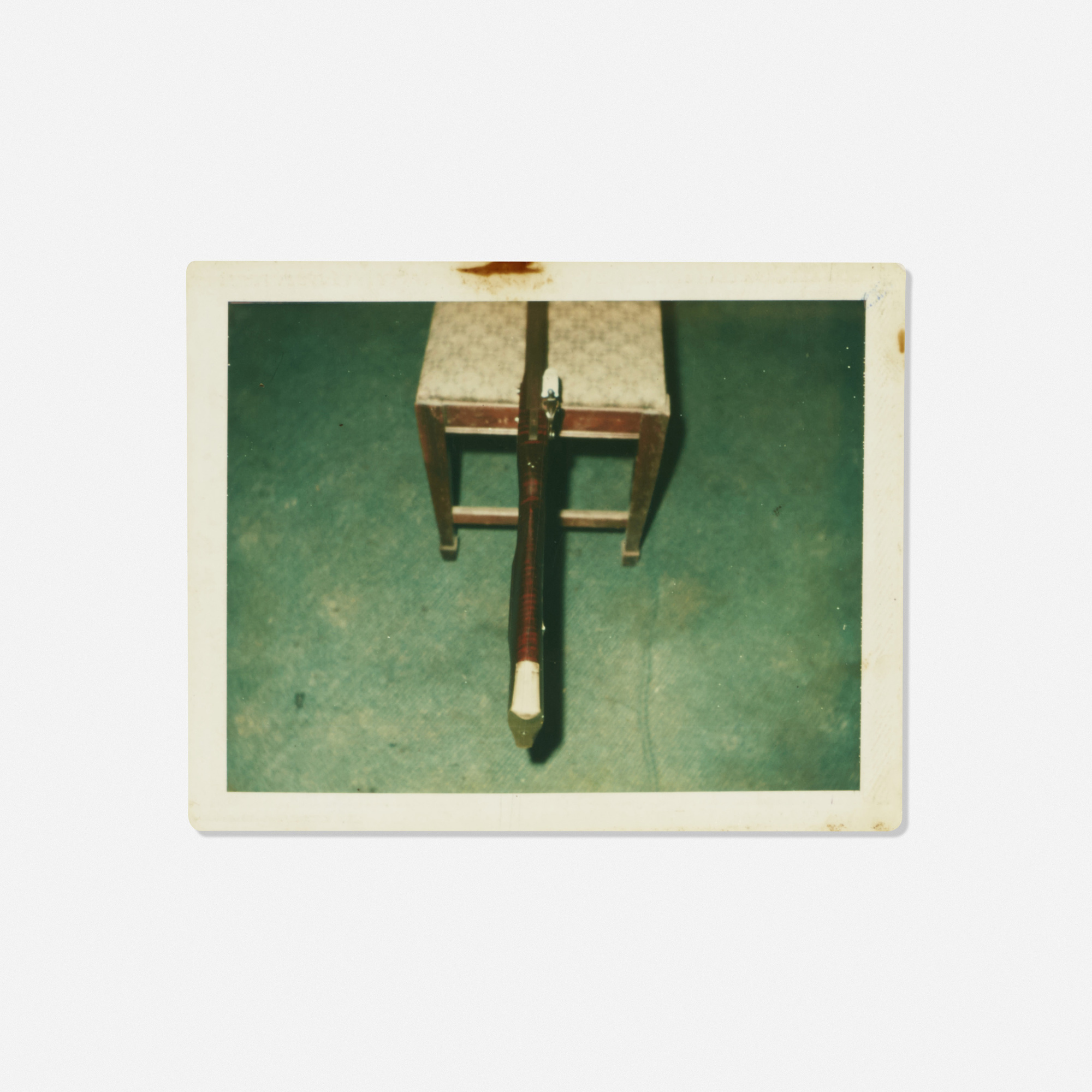 212: Andy Warhol / Untitled (Rifle on a Chair) (1 of 1)